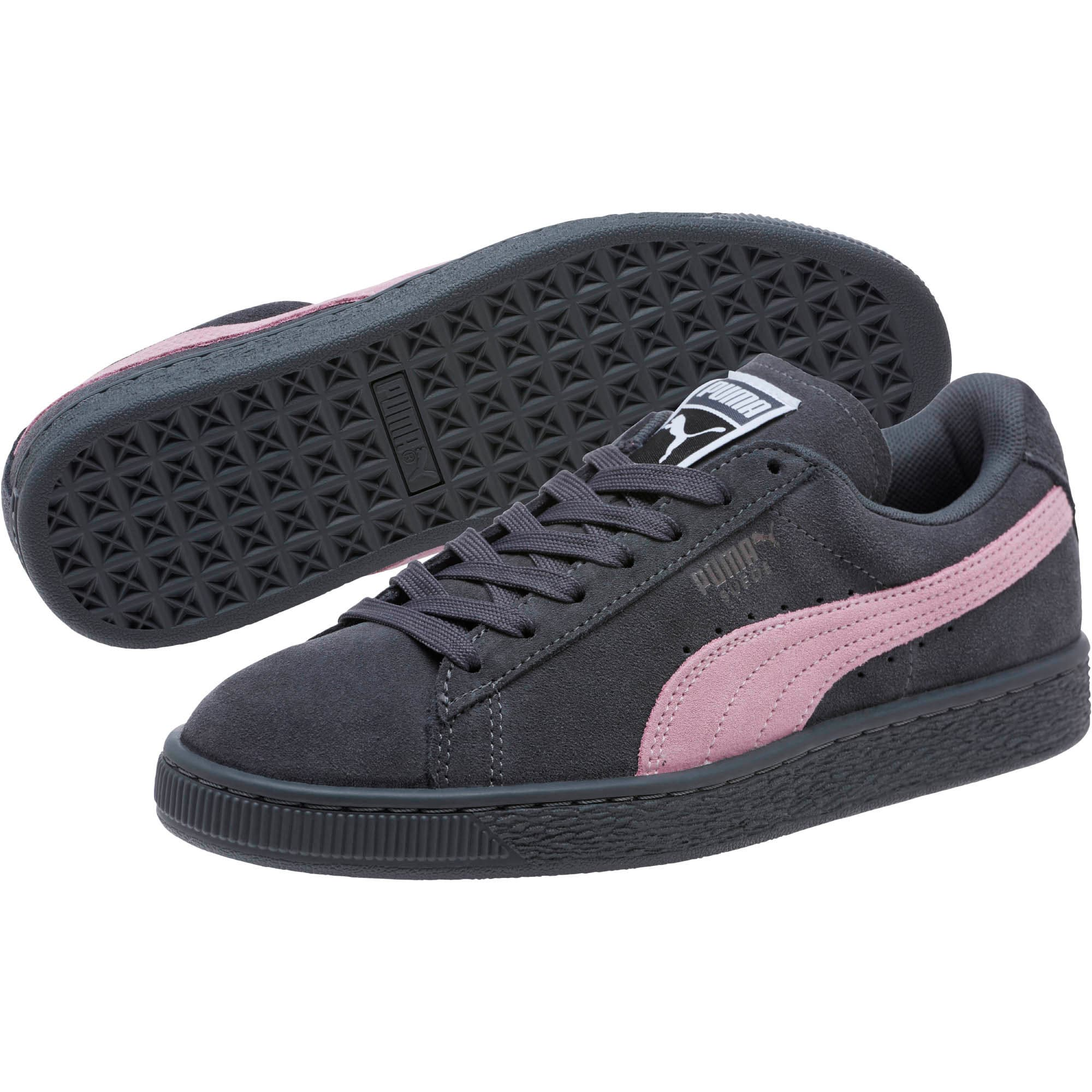 Thumbnail 2 of Suede Classic Women's Sneakers, Iron Gate-Winsome Orchid, medium