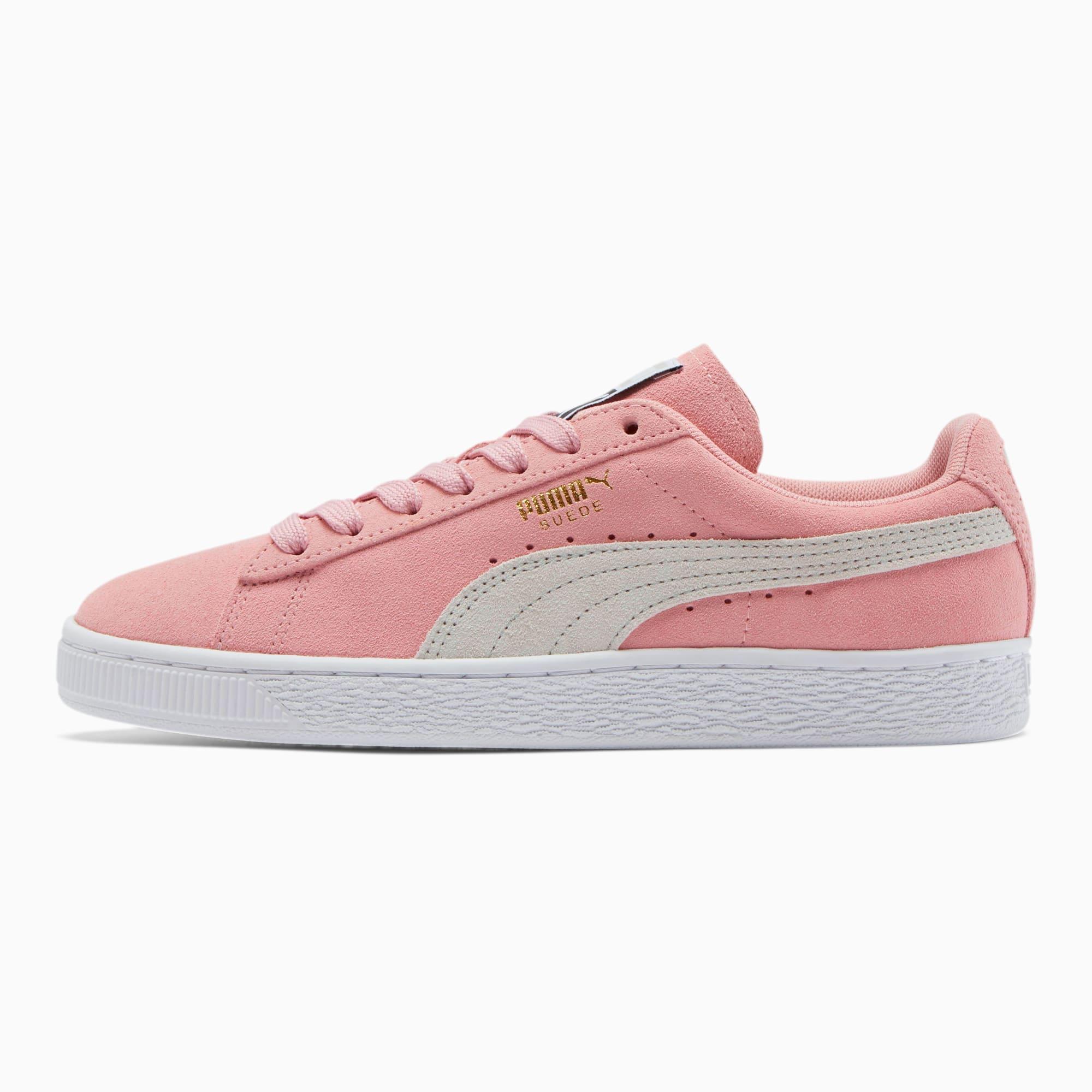 puma suade rosa