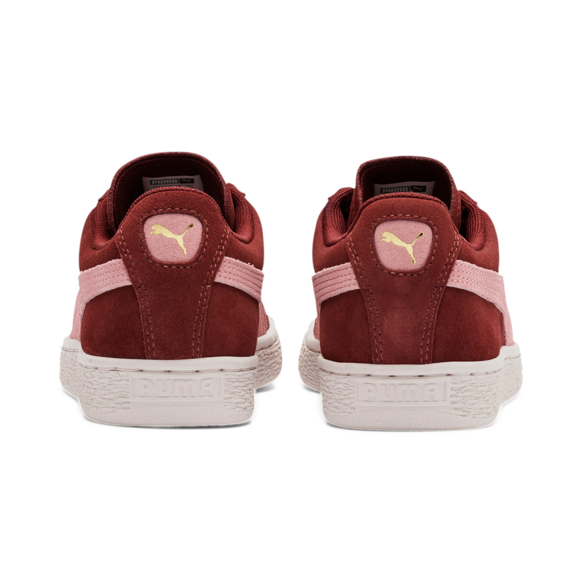 Thumbnail 4 of Suede Classic Women's Sneakers, Fired Brick-Bridal Rose, medium