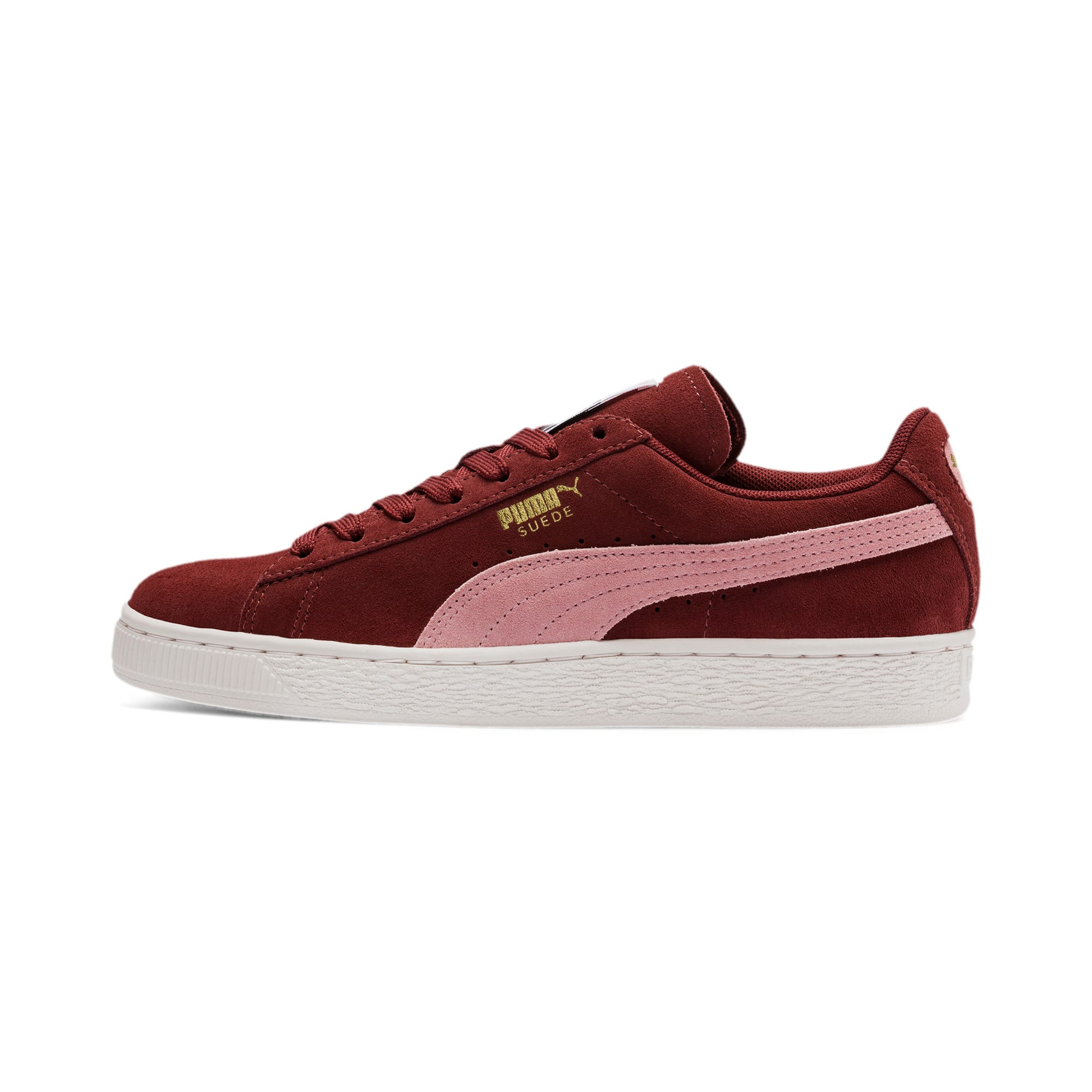Thumbnail 1 of Suede Classic Women's Sneakers, Fired Brick-Bridal Rose, medium