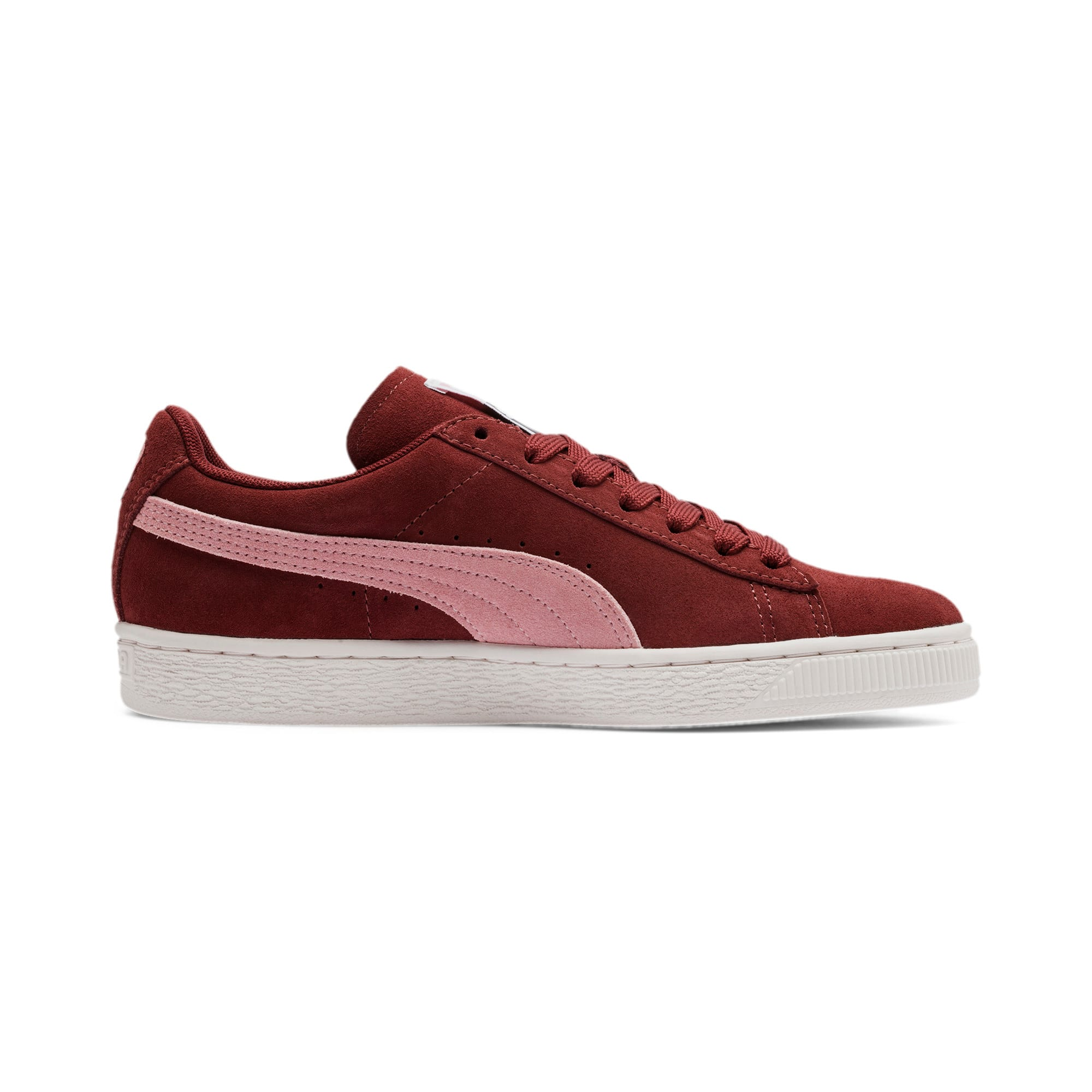 Thumbnail 6 of Suede Classic Women's Sneakers, Fired Brick-Bridal Rose, medium