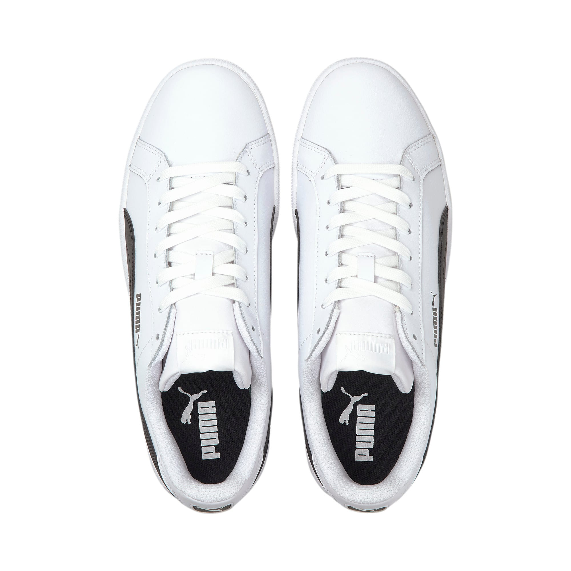Smash Leather Trainers, white-black-white, large-IND