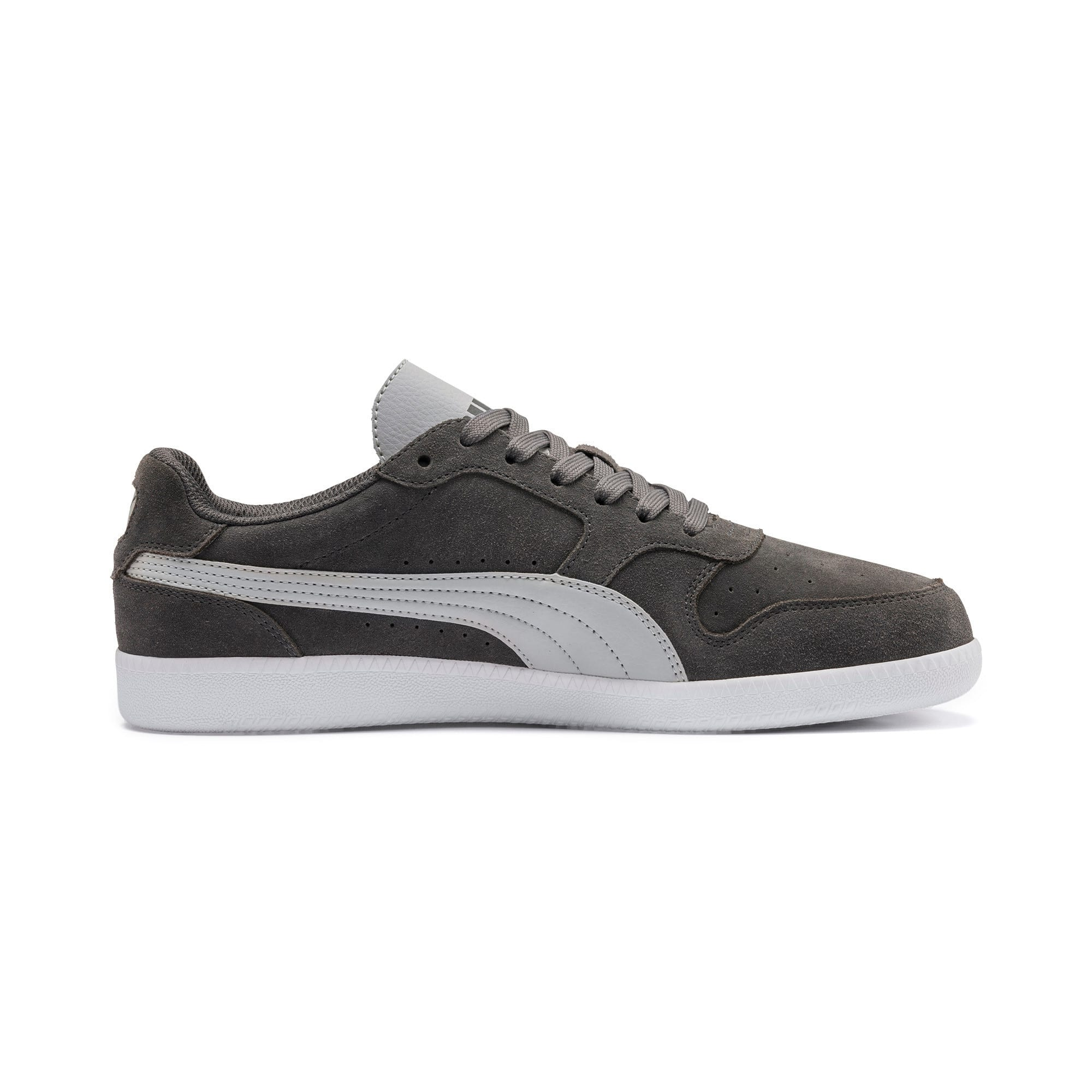Thumbnail 4 of Icra Suede Trainers, CASTLEROCK-High Rise-White, medium-IND