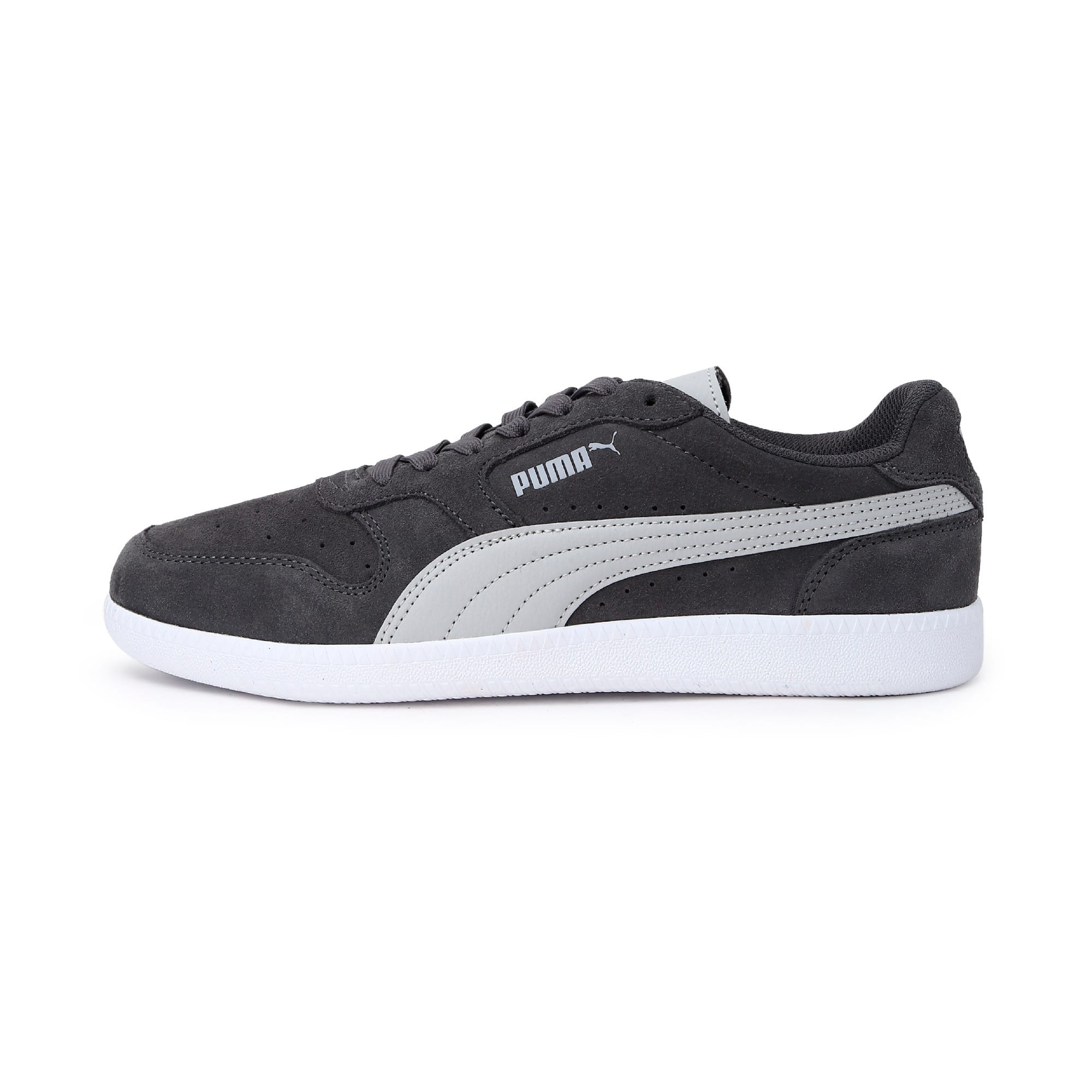 Thumbnail 1 of Icra Suede Trainers, CASTLEROCK-High Rise-White, medium-IND