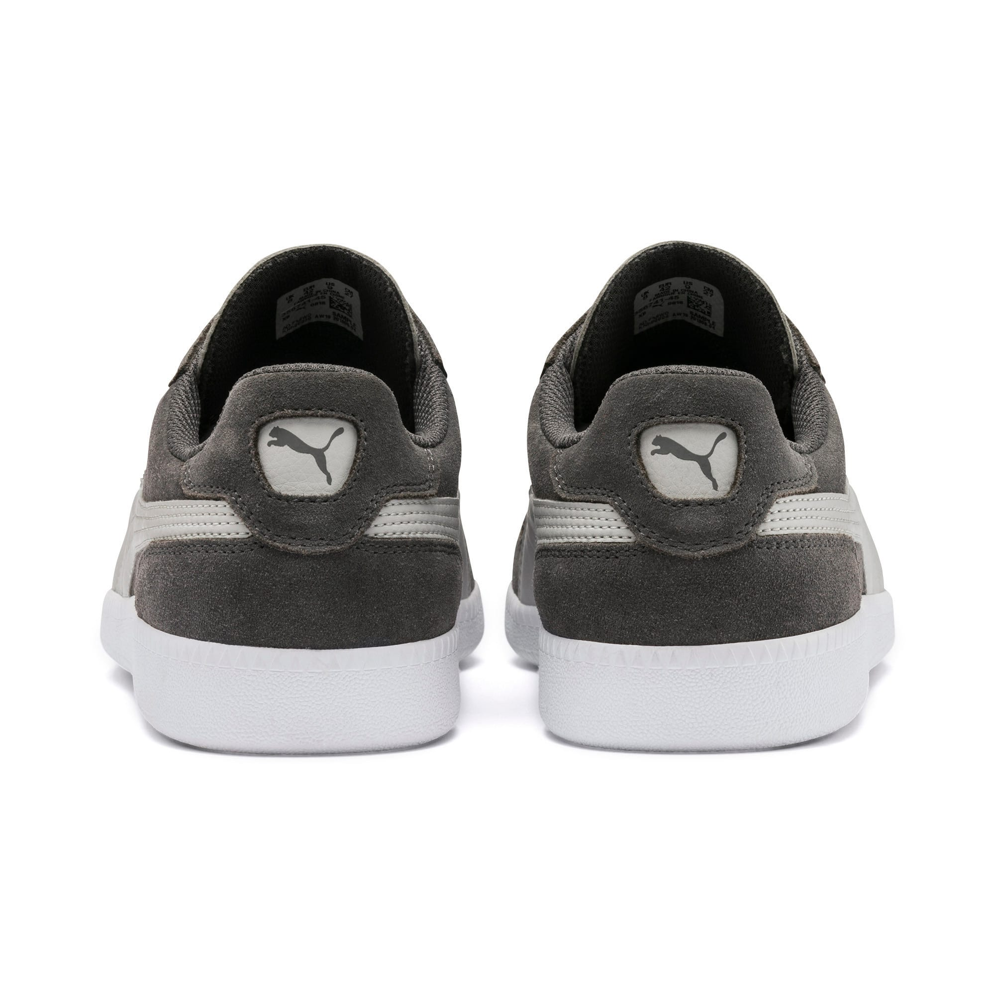 Thumbnail 5 of Icra Suede Trainers, CASTLEROCK-High Rise-White, medium-IND