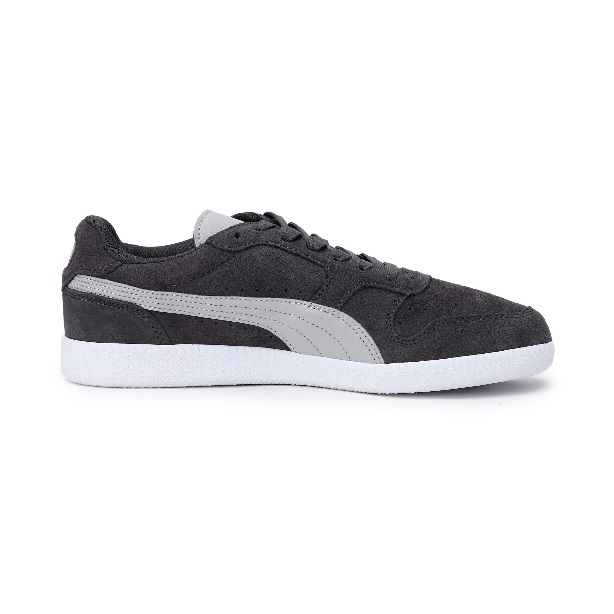 Thumbnail 6 of Icra Suede Trainers, CASTLEROCK-High Rise-White, medium-IND