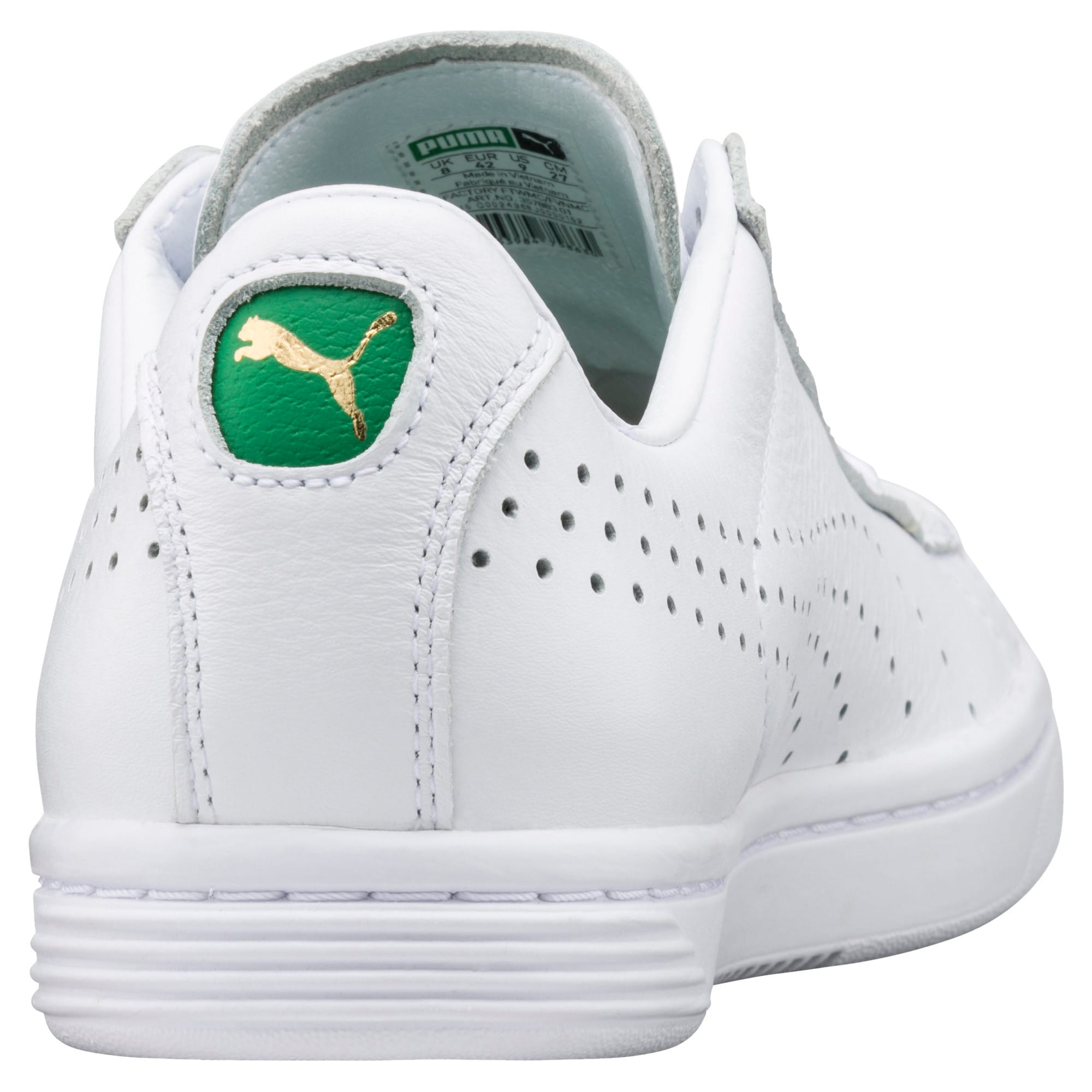 Thumbnail 3 of Court Star Trainers, white, medium-IND