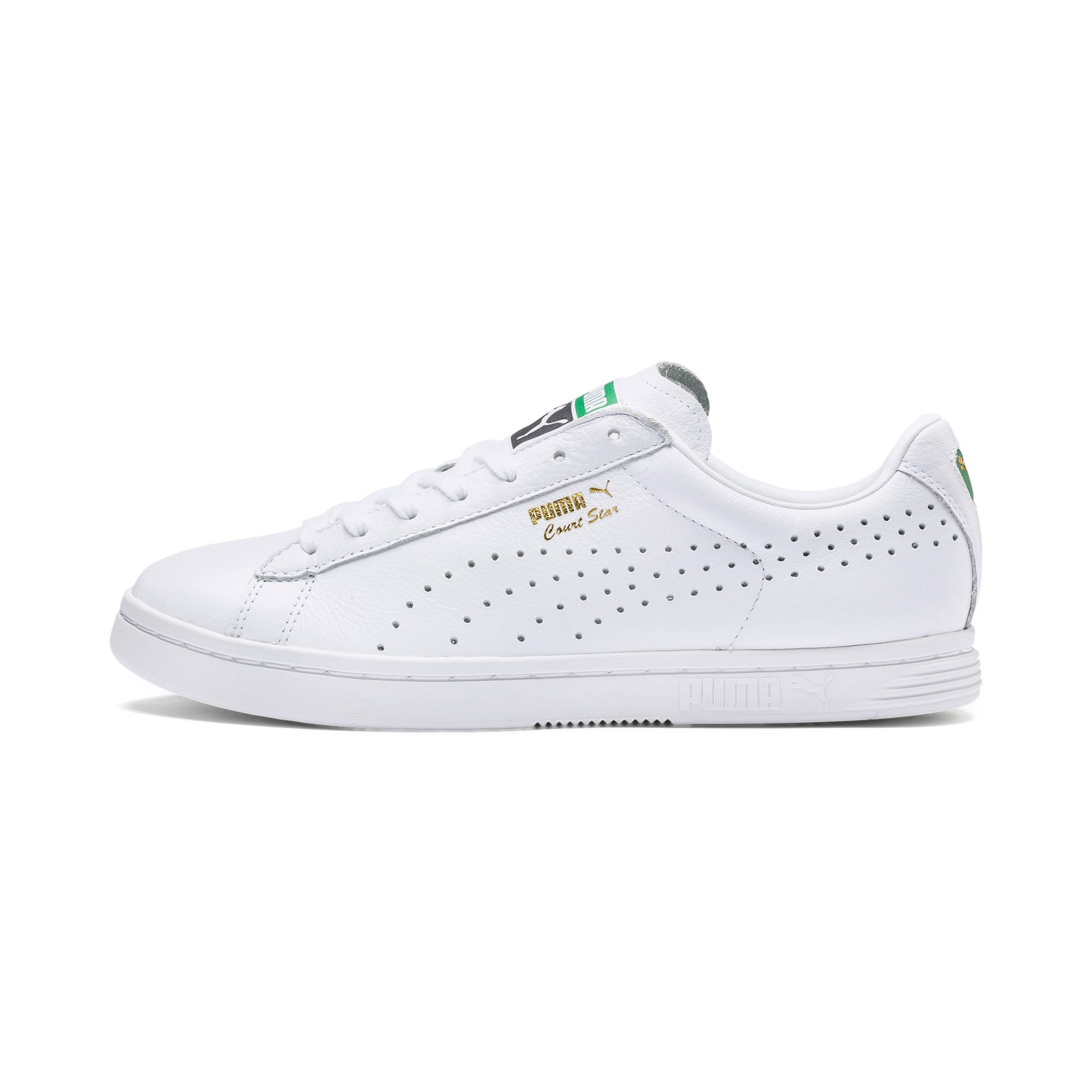 Thumbnail 1 of Court Star Trainers, white, medium-IND