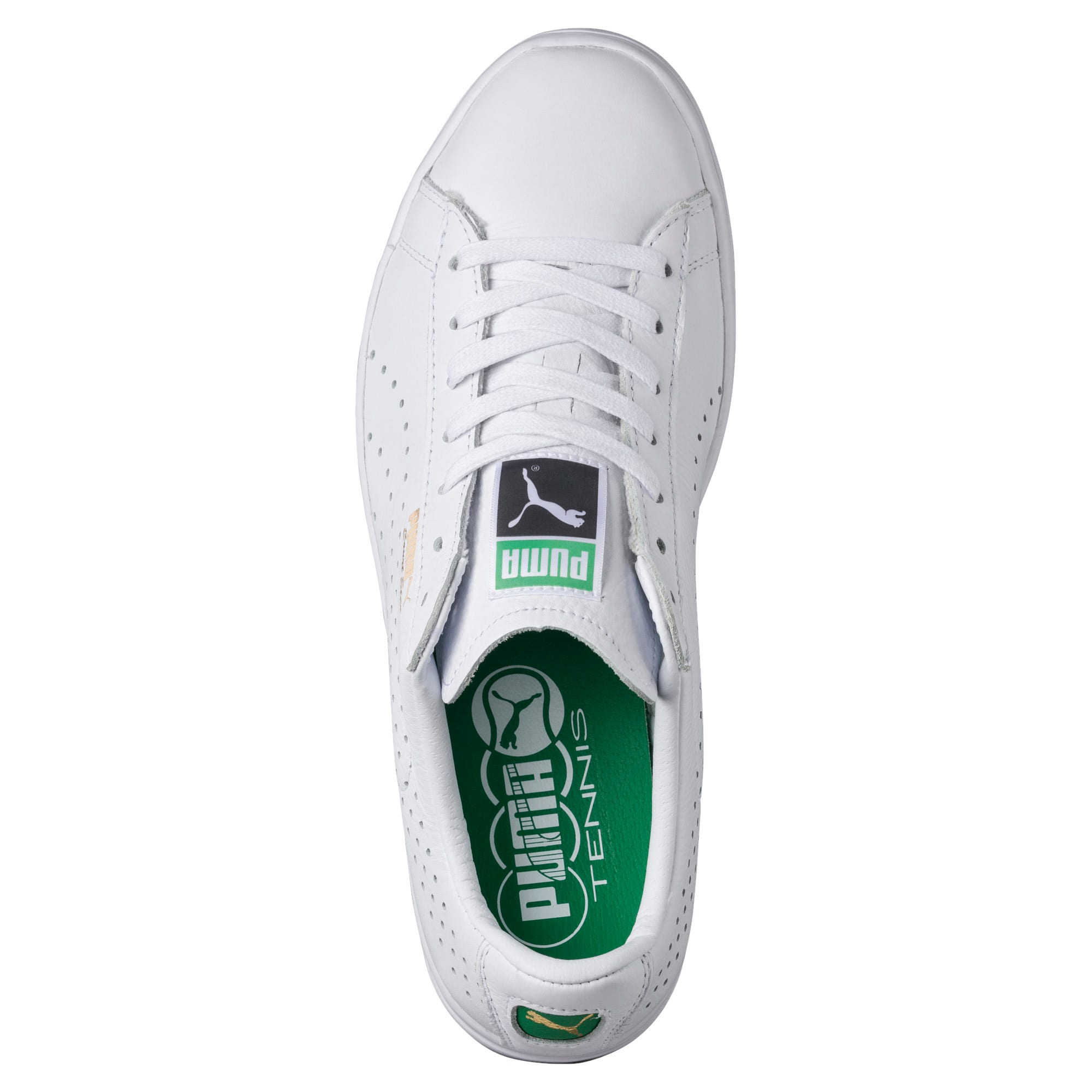 Thumbnail 5 of Court Star Trainers, white, medium-IND