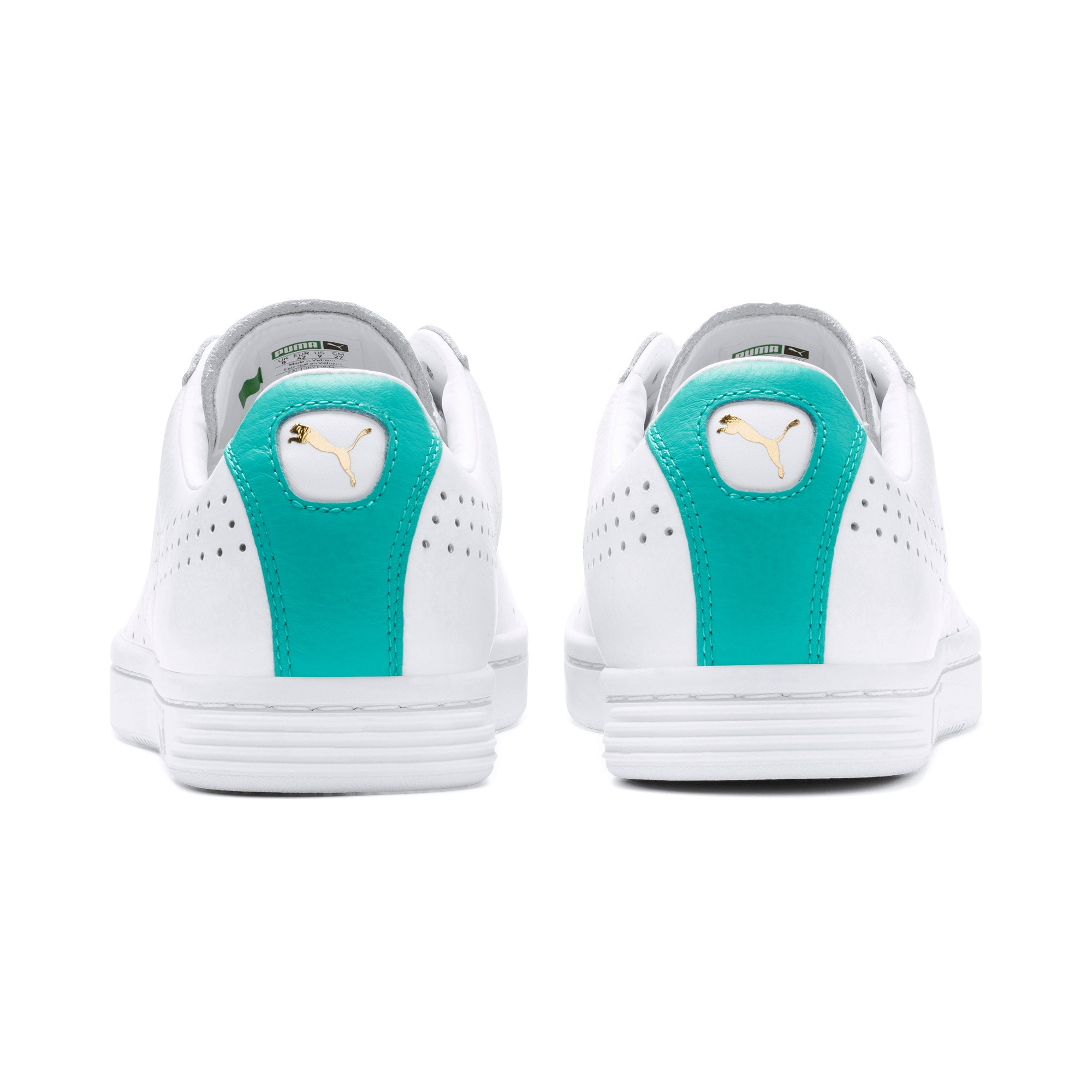 Thumbnail 5 of Court Star Sneakers, Puma White-Blue Turquoise, medium