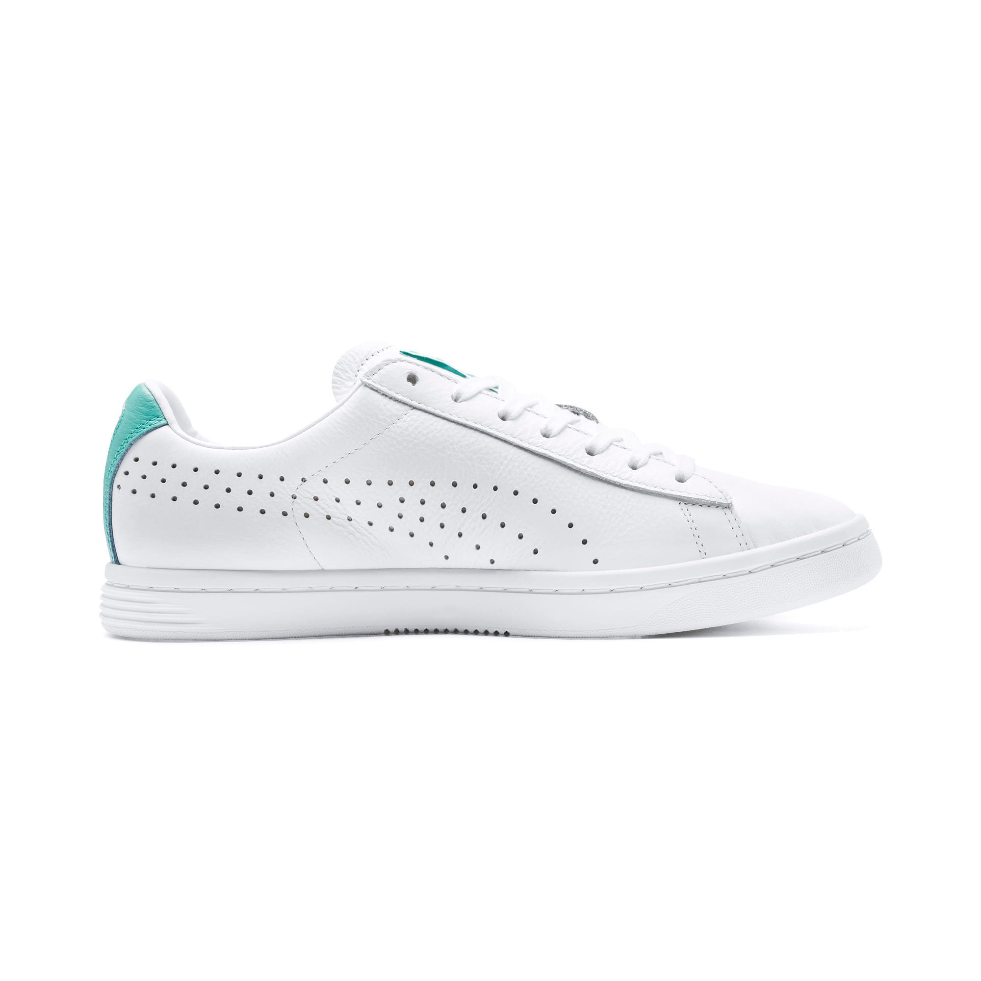 Thumbnail 6 of Court Star Sneakers, Puma White-Blue Turquoise, medium