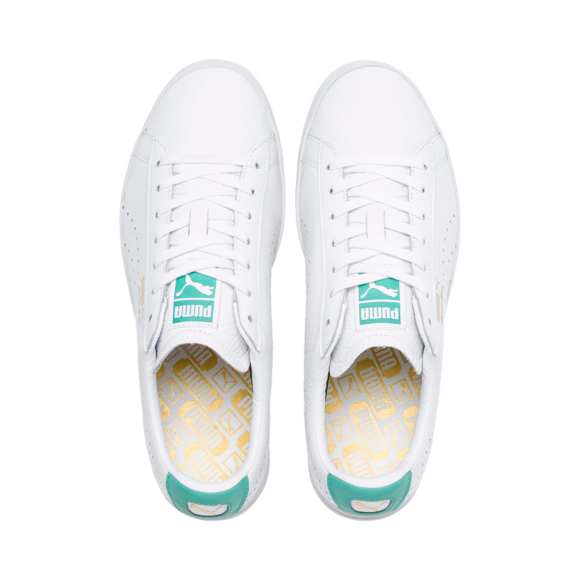 Thumbnail 7 of Court Star Sneakers, Puma White-Blue Turquoise, medium