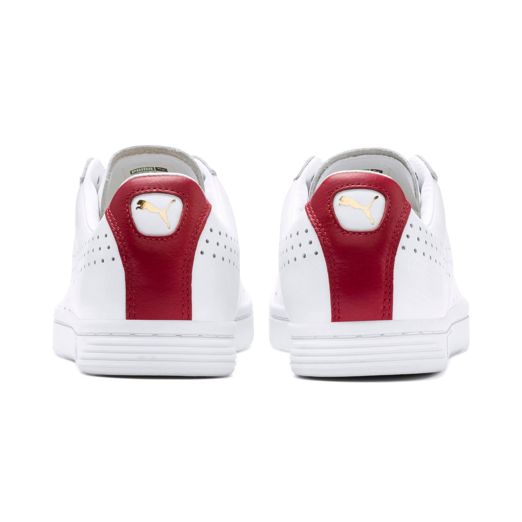 Thumbnail 5 of Court Star Sneakers, Puma White-Rhubarb, medium