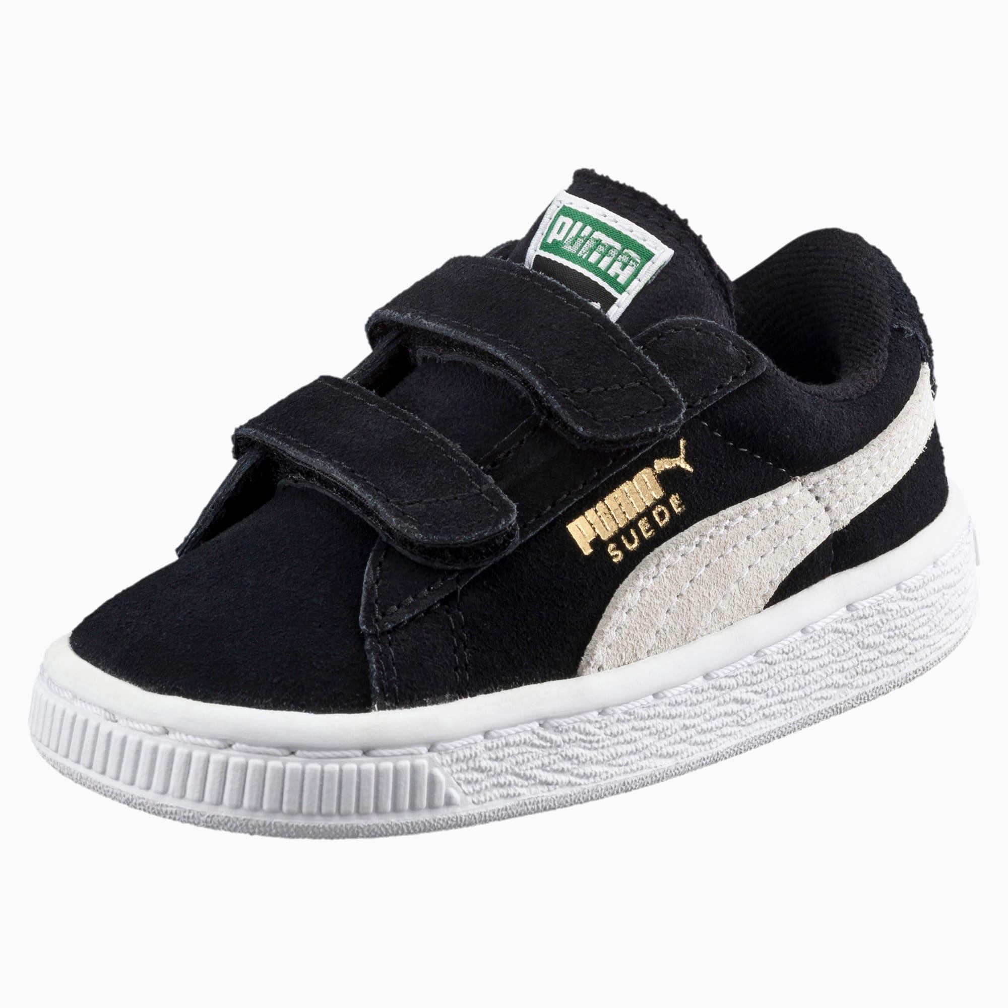 Suede 2 Straps Little Kids' Sneakers
