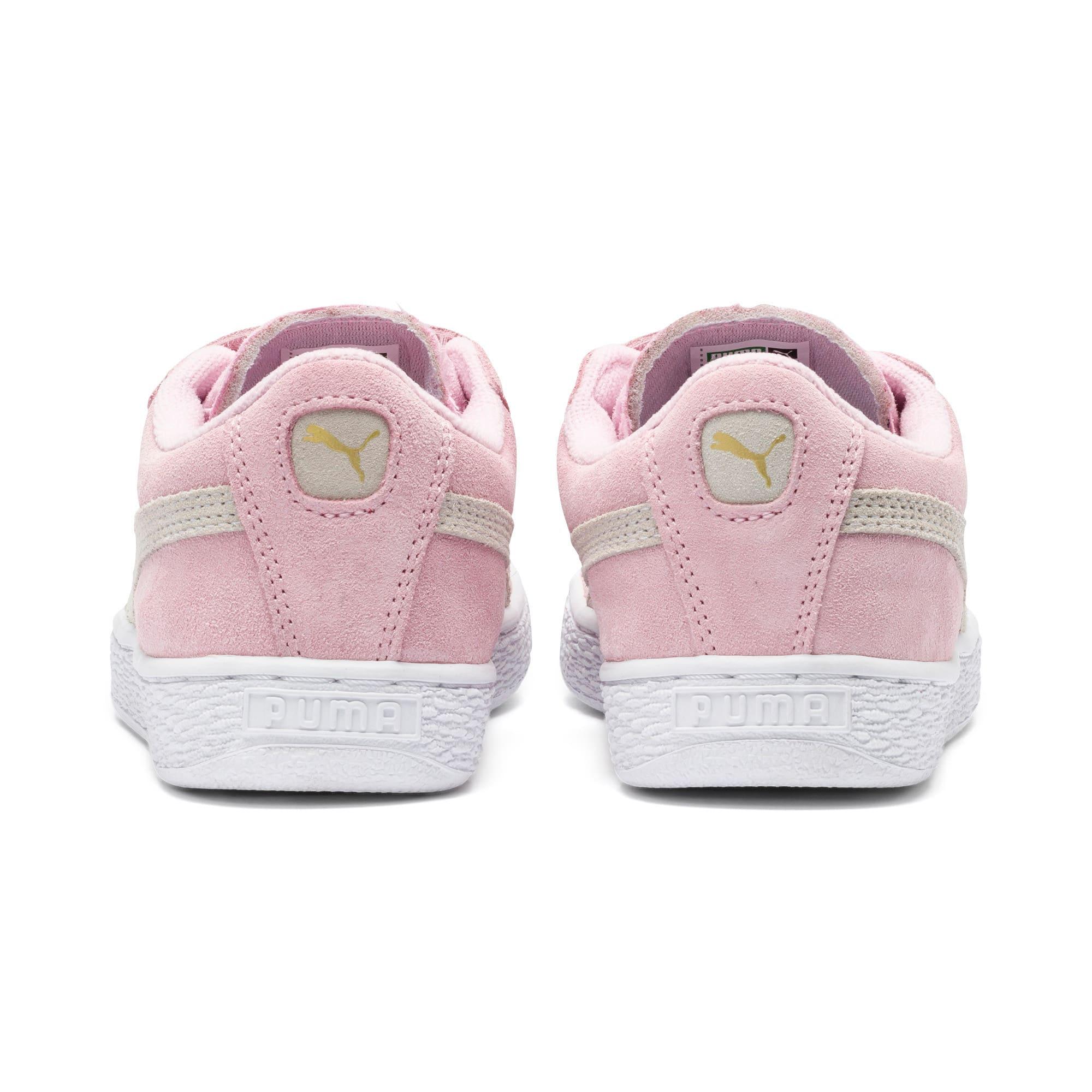 Thumbnail 3 van Suede sneakers voor kinderen, Pink Lady-Puma Team Gold, medium