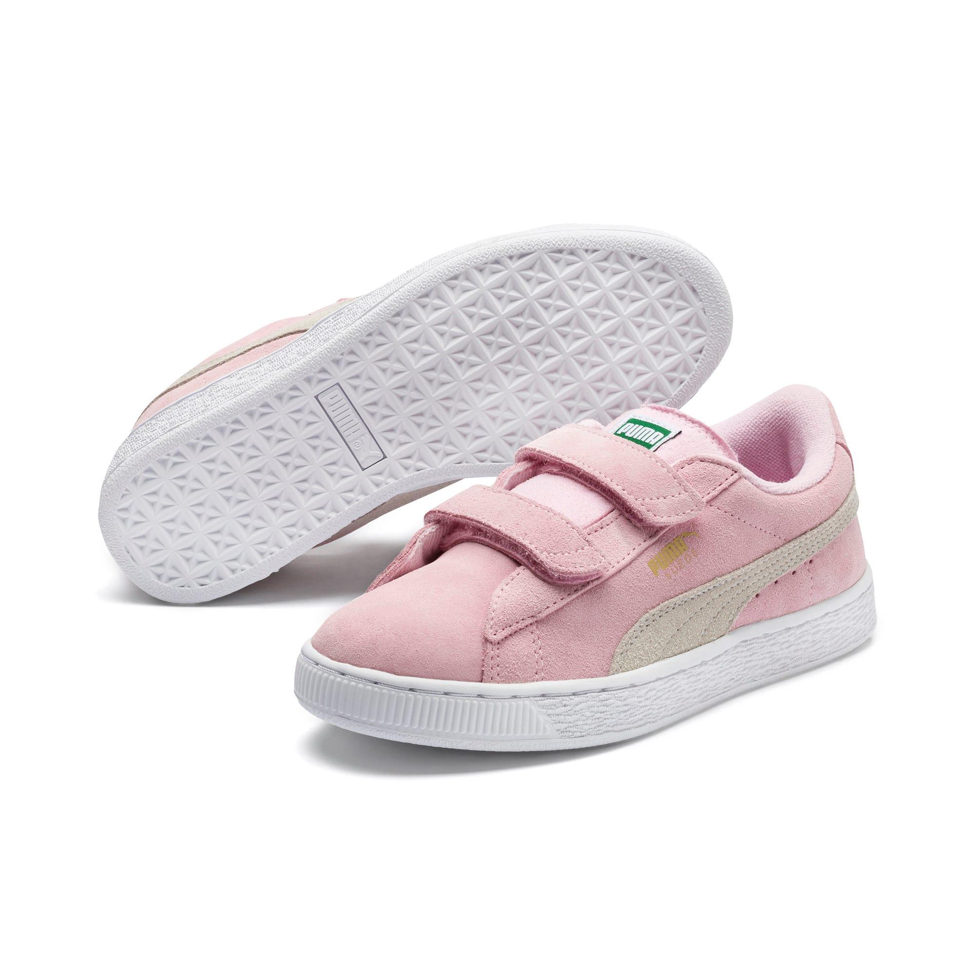 Thumbnail 2 van Suede sneakers voor kinderen, Pink Lady-Puma Team Gold, medium