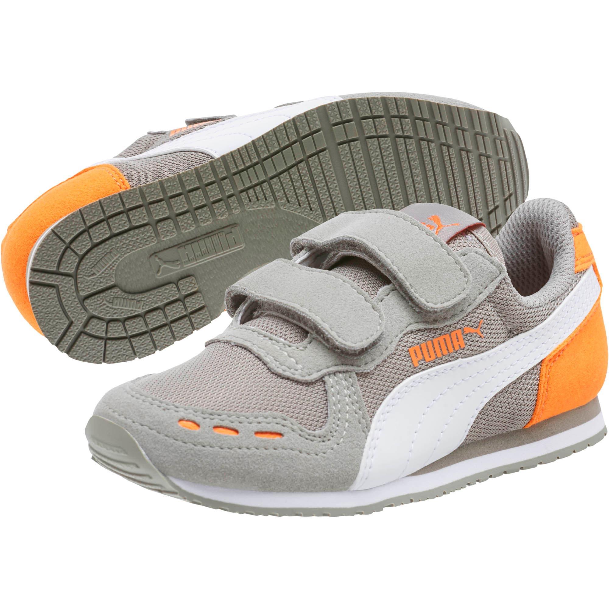 Thumbnail 2 of Cabana Racer Mesh AC Little Kids' Shoes, Rock Ridge-White-Vibrant, medium