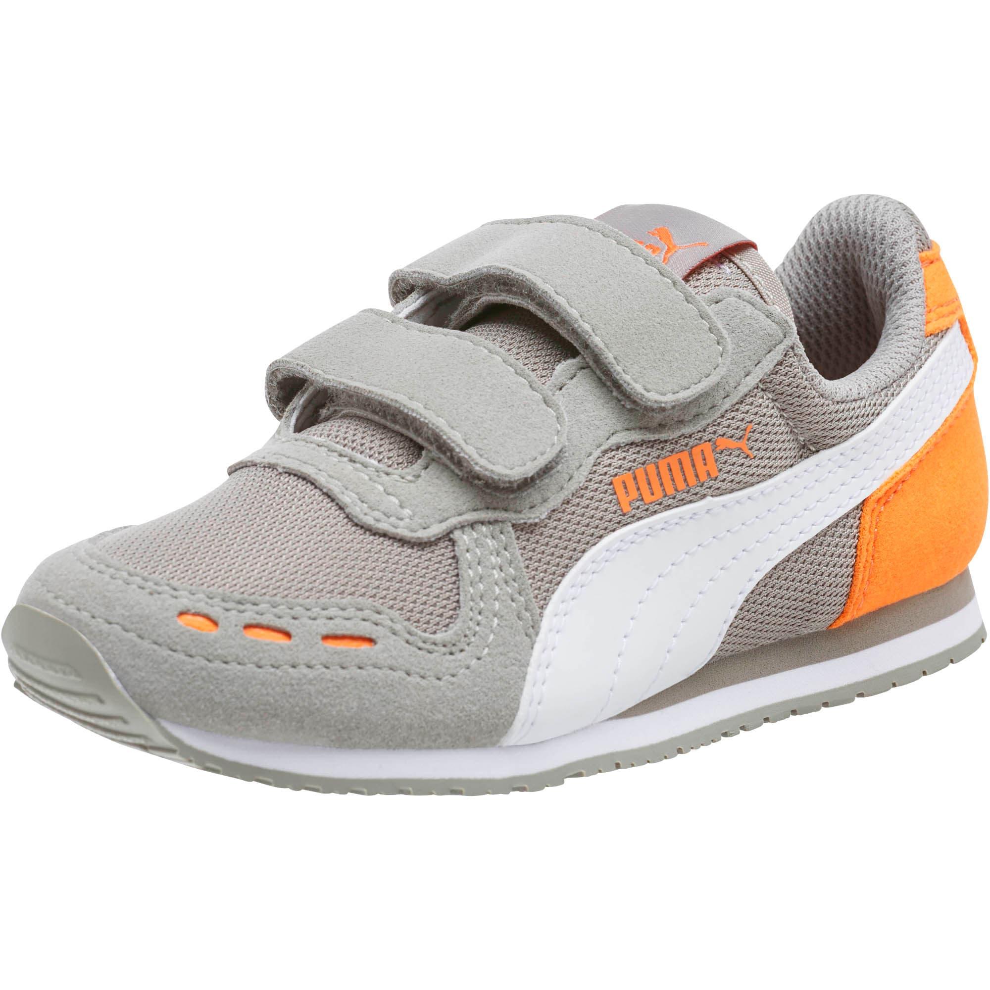 Thumbnail 1 of Cabana Racer Mesh AC Little Kids' Shoes, Rock Ridge-White-Vibrant, medium