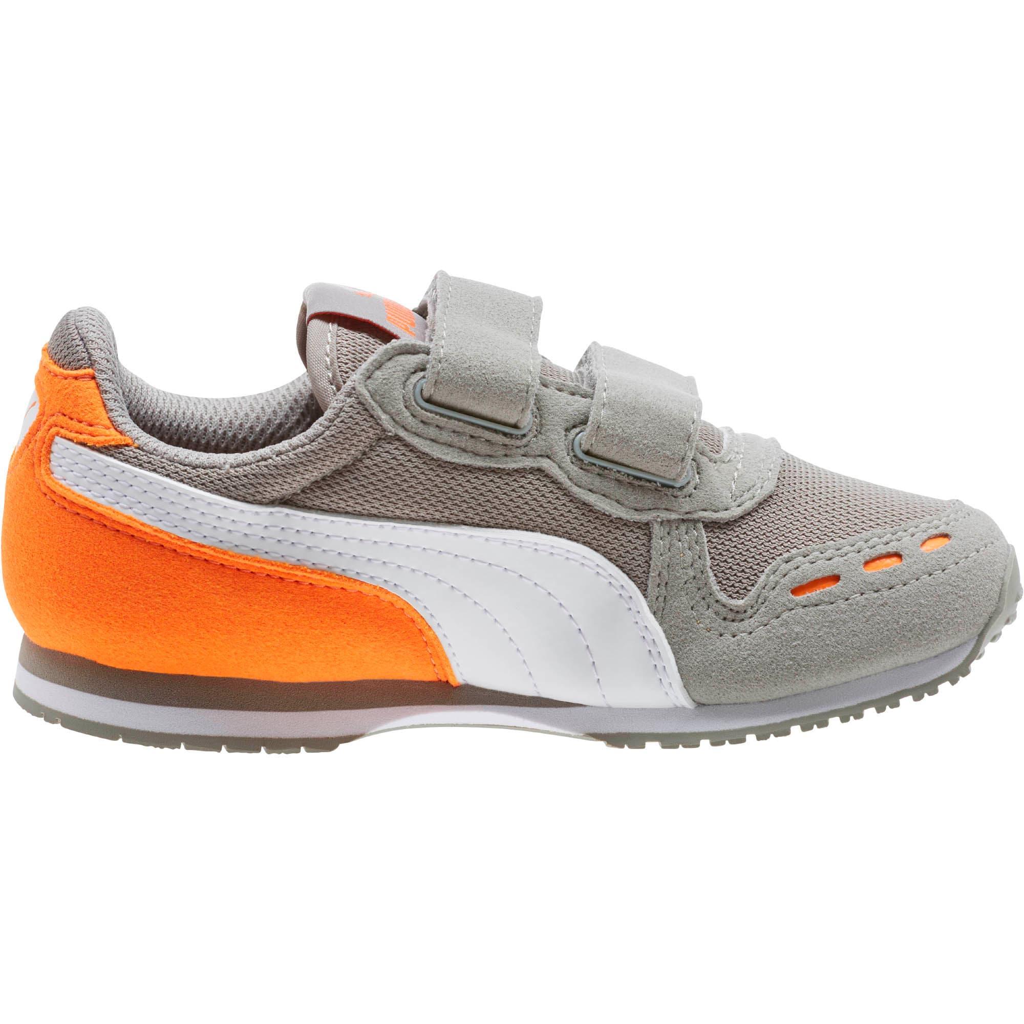 Thumbnail 3 of Cabana Racer Mesh AC Little Kids' Shoes, Rock Ridge-White-Vibrant, medium