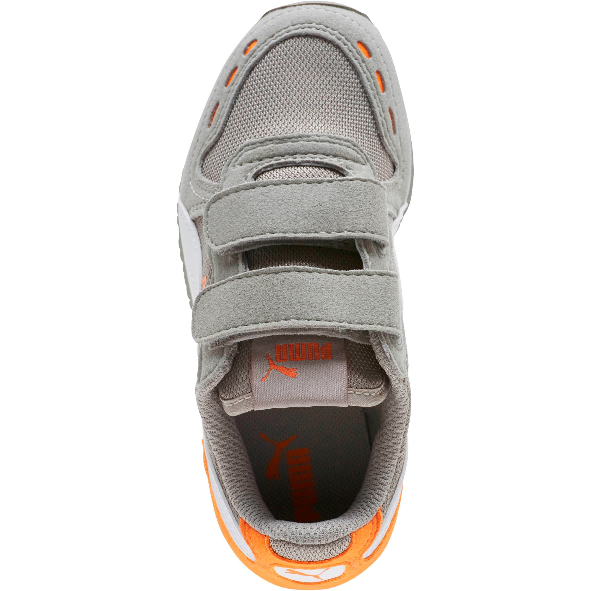 Thumbnail 5 of Cabana Racer Mesh AC Little Kids' Shoes, Rock Ridge-White-Vibrant, medium