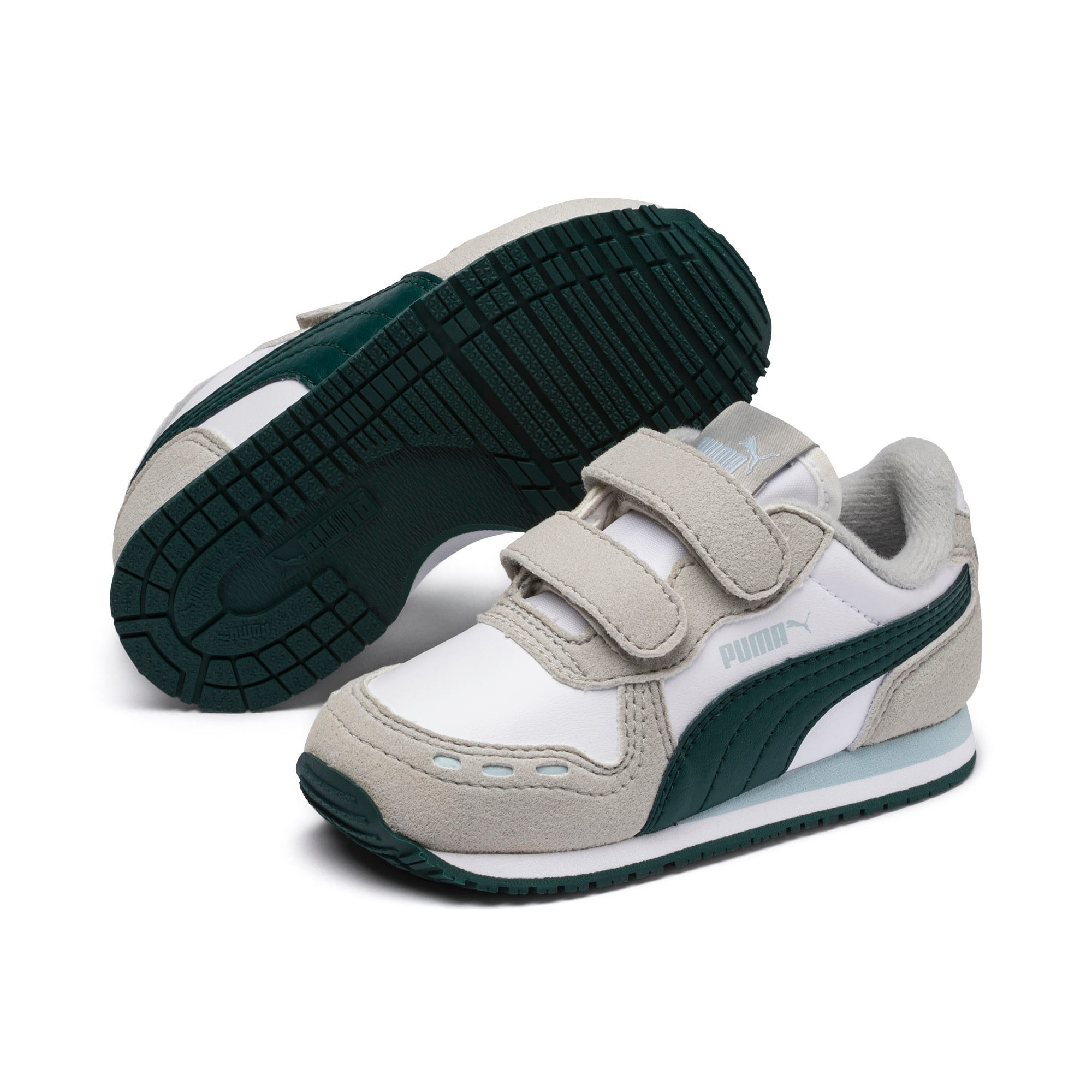 Thumbnail 2 of Cabana Racer SL AC Little Kids' Shoes, P.Wht-Gr.Violet-Ponder. Pine, medium
