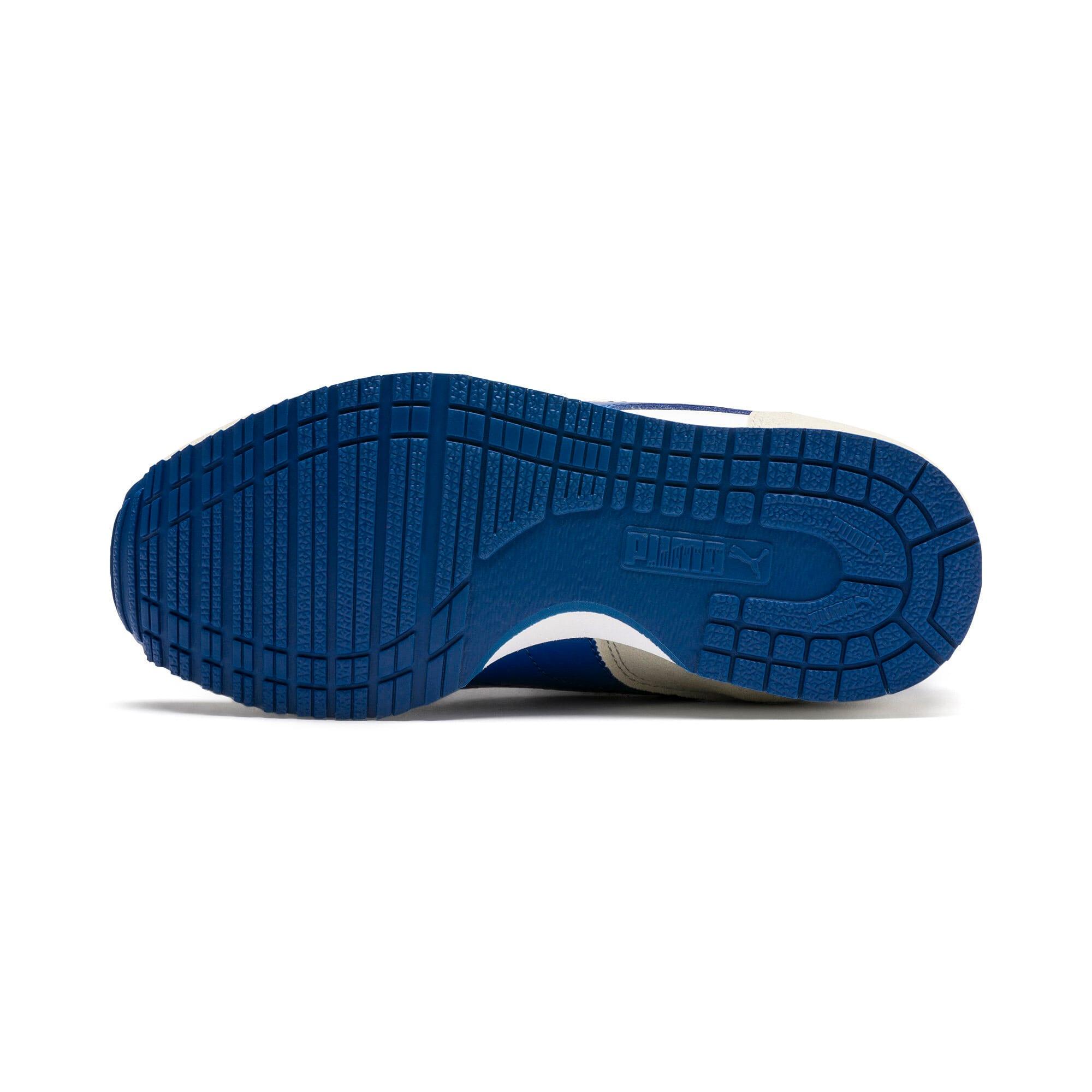 Thumbnail 4 of Cabana Racer SL V PS Baby Sneaker, Puma White-Galaxy Blue, medium