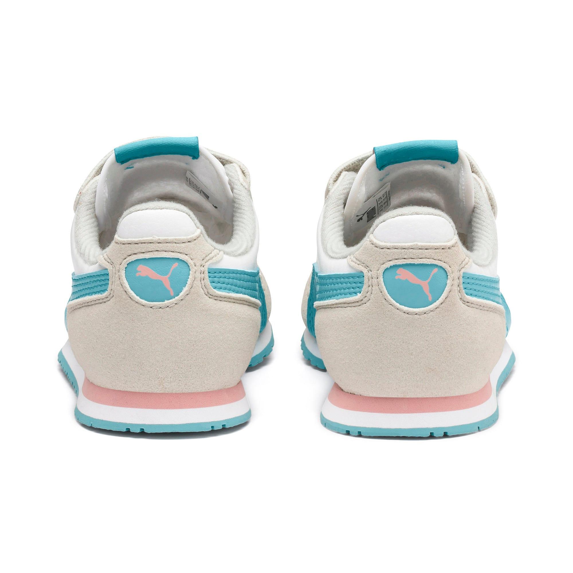 Thumbnail 3 of Cabana Racer SL V PS Baby Sneaker, Puma White-Milky Blue, medium