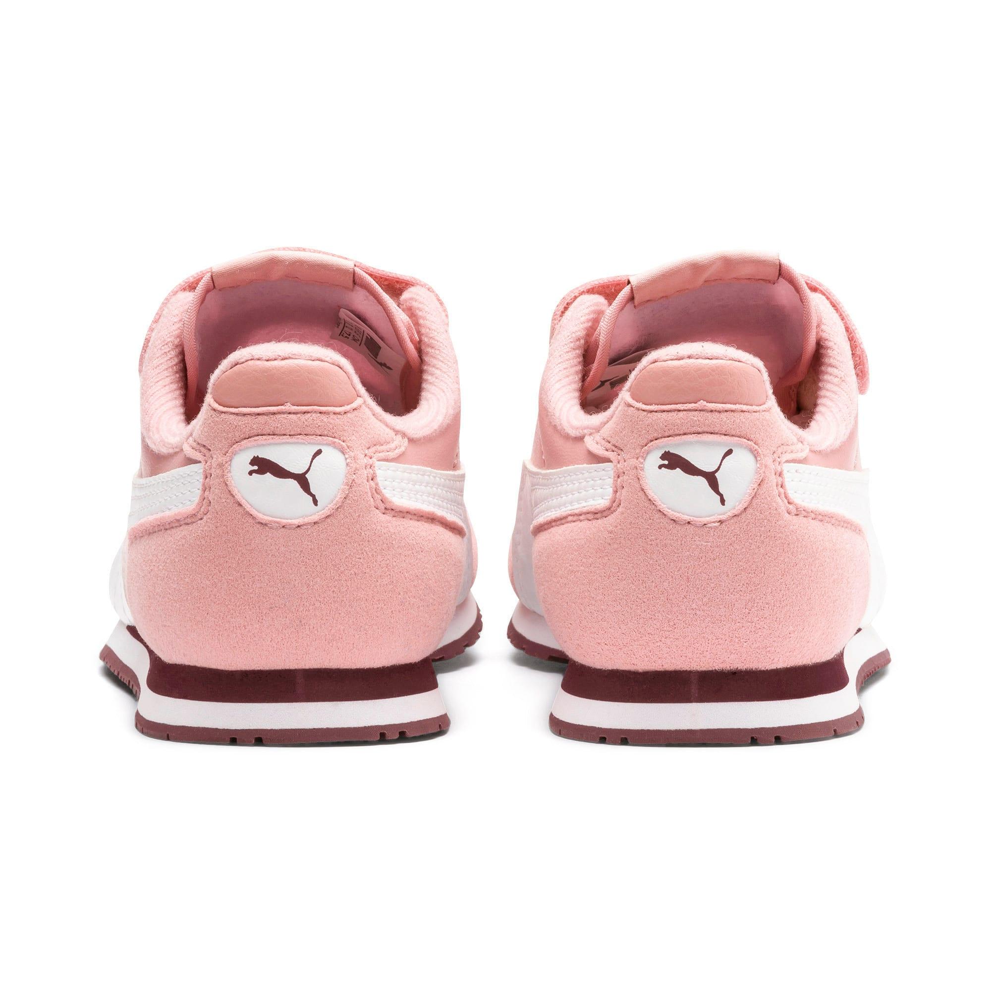 Thumbnail 3 of Cabana Racer SL V PS Baby Sneaker, Bridal Rose-Puma White, medium