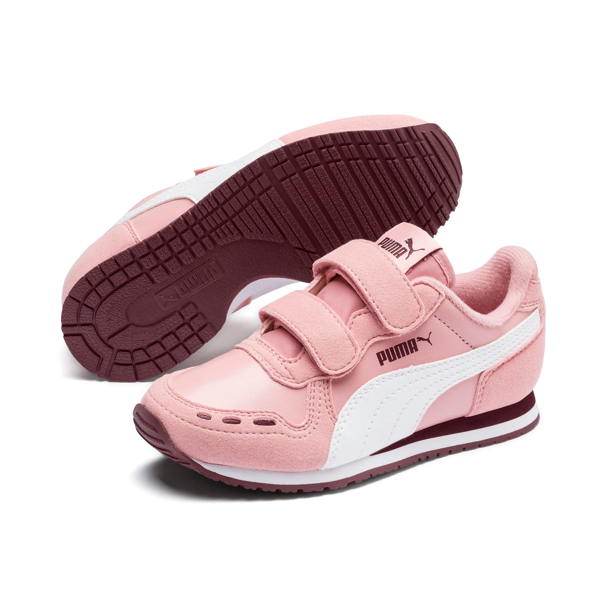 Thumbnail 2 of Cabana Racer SL V PS Baby Sneaker, Bridal Rose-Puma White, medium