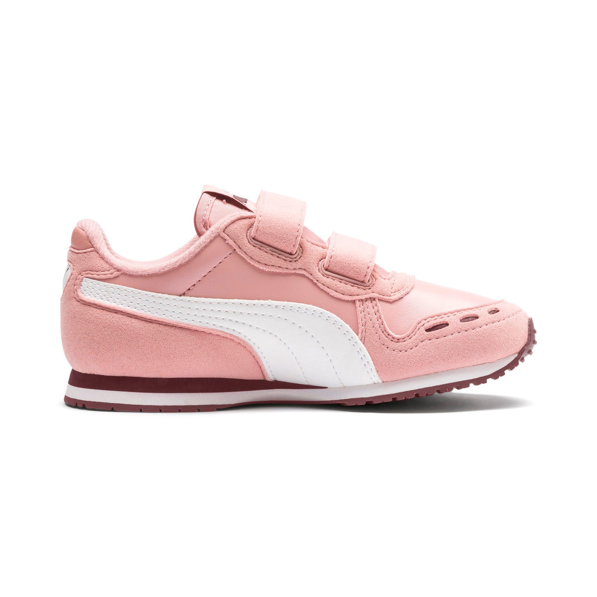 Thumbnail 5 of Cabana Racer SL V PS Baby Sneaker, Bridal Rose-Puma White, medium