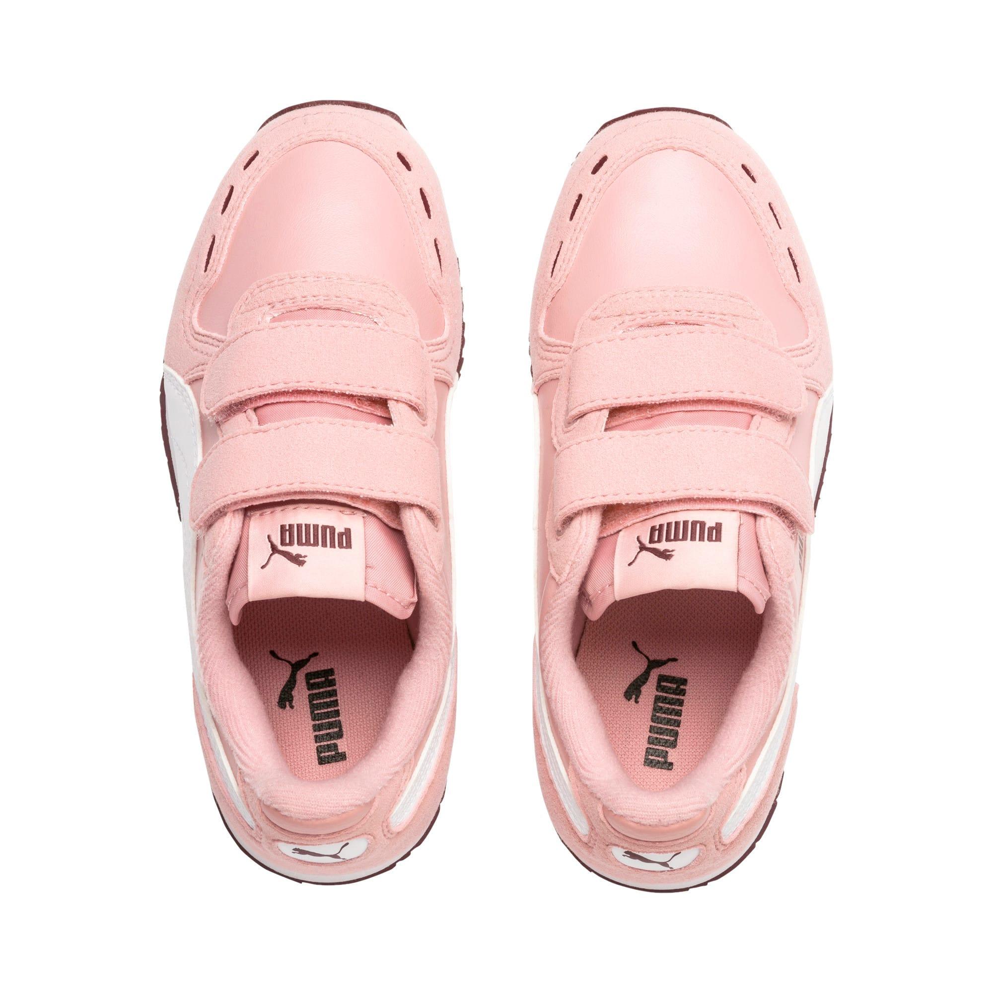 Thumbnail 6 of Cabana Racer SL V PS Baby Sneaker, Bridal Rose-Puma White, medium