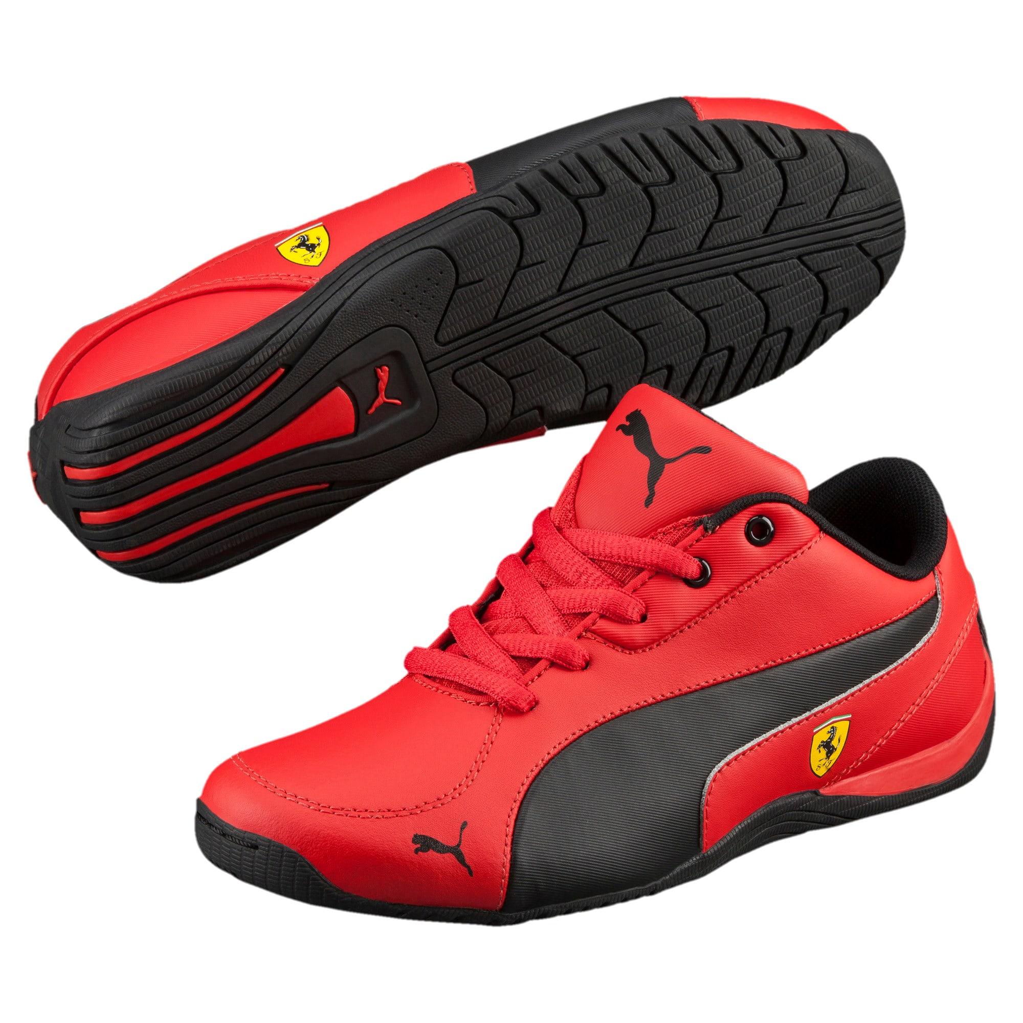 Thumbnail 2 of Ferrari Drift Cat 5 Jr. Trainers, Rosso Corsa-Puma Black, medium-IND