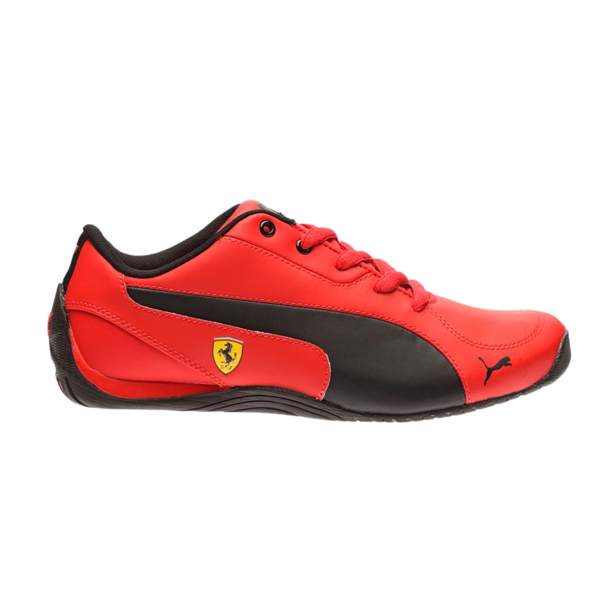 Thumbnail 5 of Ferrari Drift Cat 5 Jr. Trainers, Rosso Corsa-Puma Black, medium-IND
