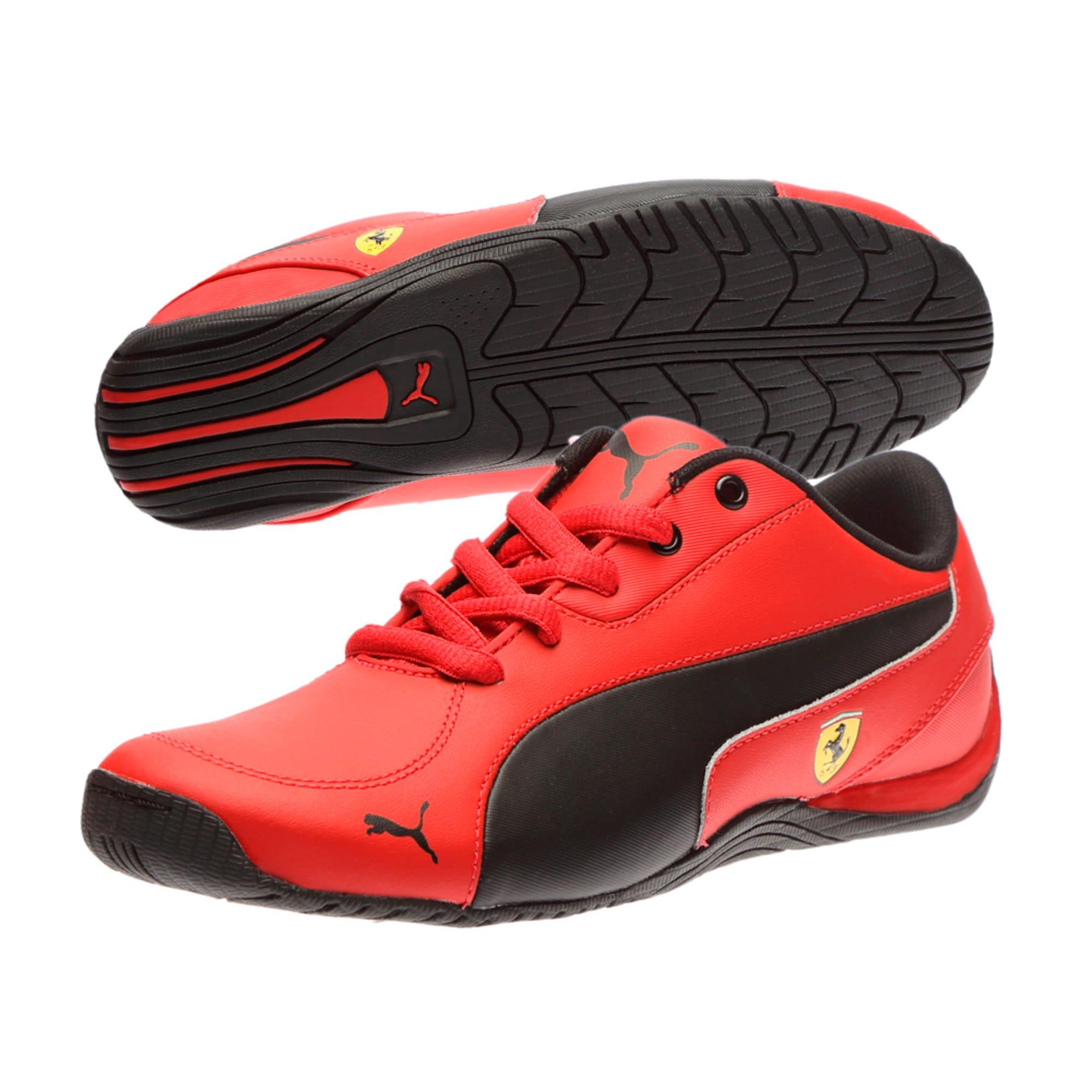 Thumbnail 6 of Ferrari Drift Cat 5 Jr. Trainers, Rosso Corsa-Puma Black, medium-IND