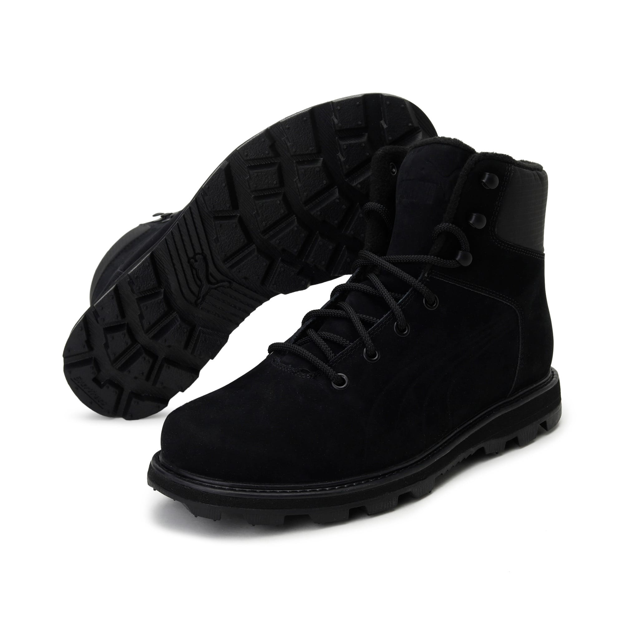 Thumbnail 2 of Desierto Fun Winter Boots, Puma Black- Black- Black, medium-IND