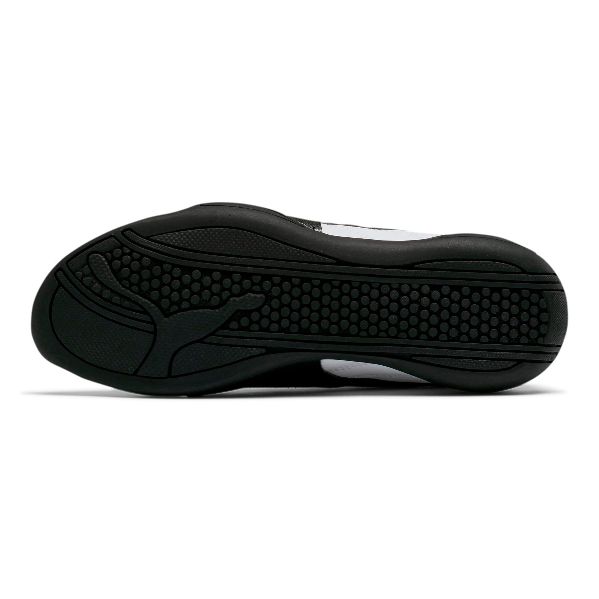 Thumbnail 4 of Tune Cat 3 Shoes JR, Puma White-Puma Black, medium