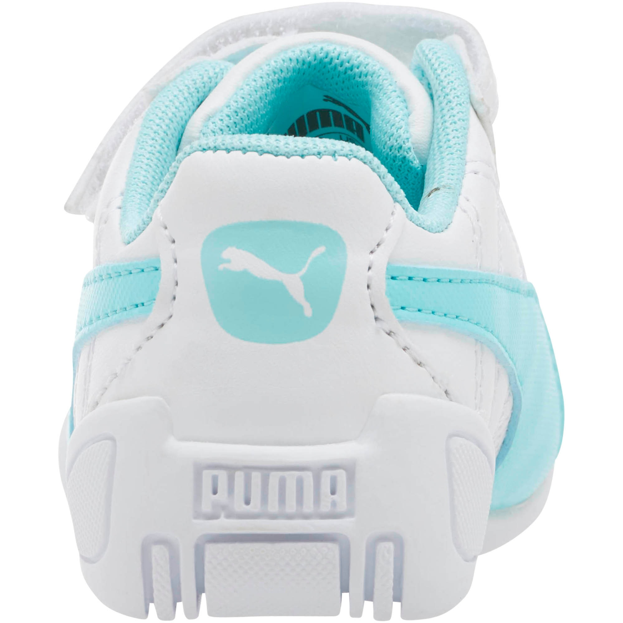 Thumbnail 4 of Tune Cat 3 AC Toddler Shoes, Puma White-Island Paradise, medium