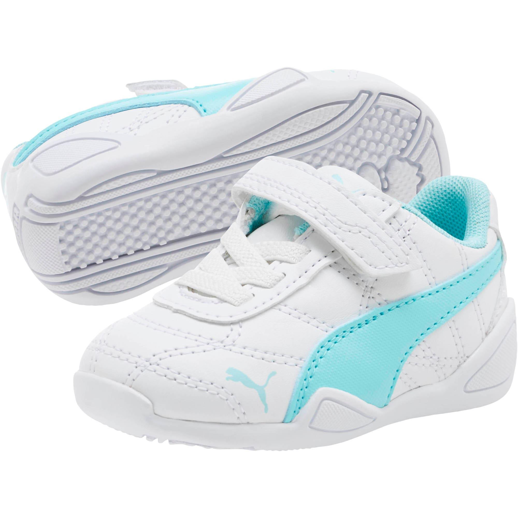 Thumbnail 2 of Tune Cat 3 AC Toddler Shoes, Puma White-Island Paradise, medium