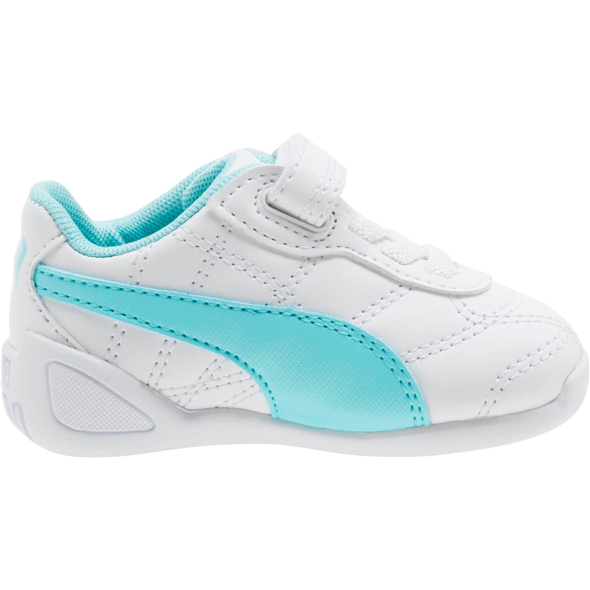 Thumbnail 3 of Tune Cat 3 AC Toddler Shoes, Puma White-Island Paradise, medium