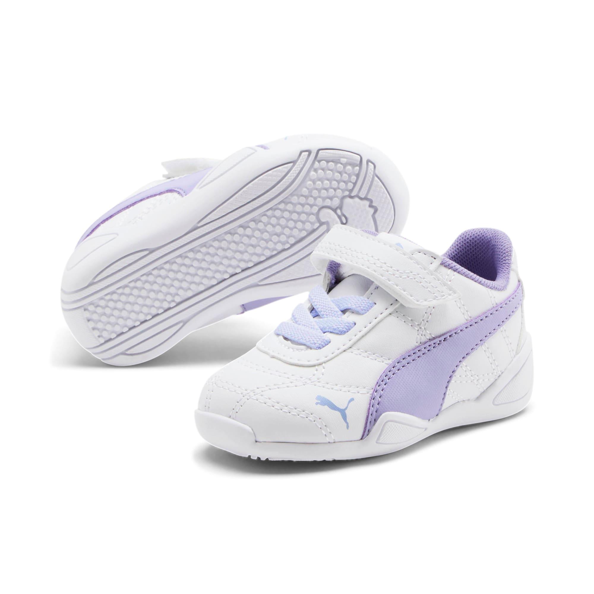 Thumbnail 2 of Tune Cat 3 AC Toddler Shoes, Puma White-Sweet Lavender, medium