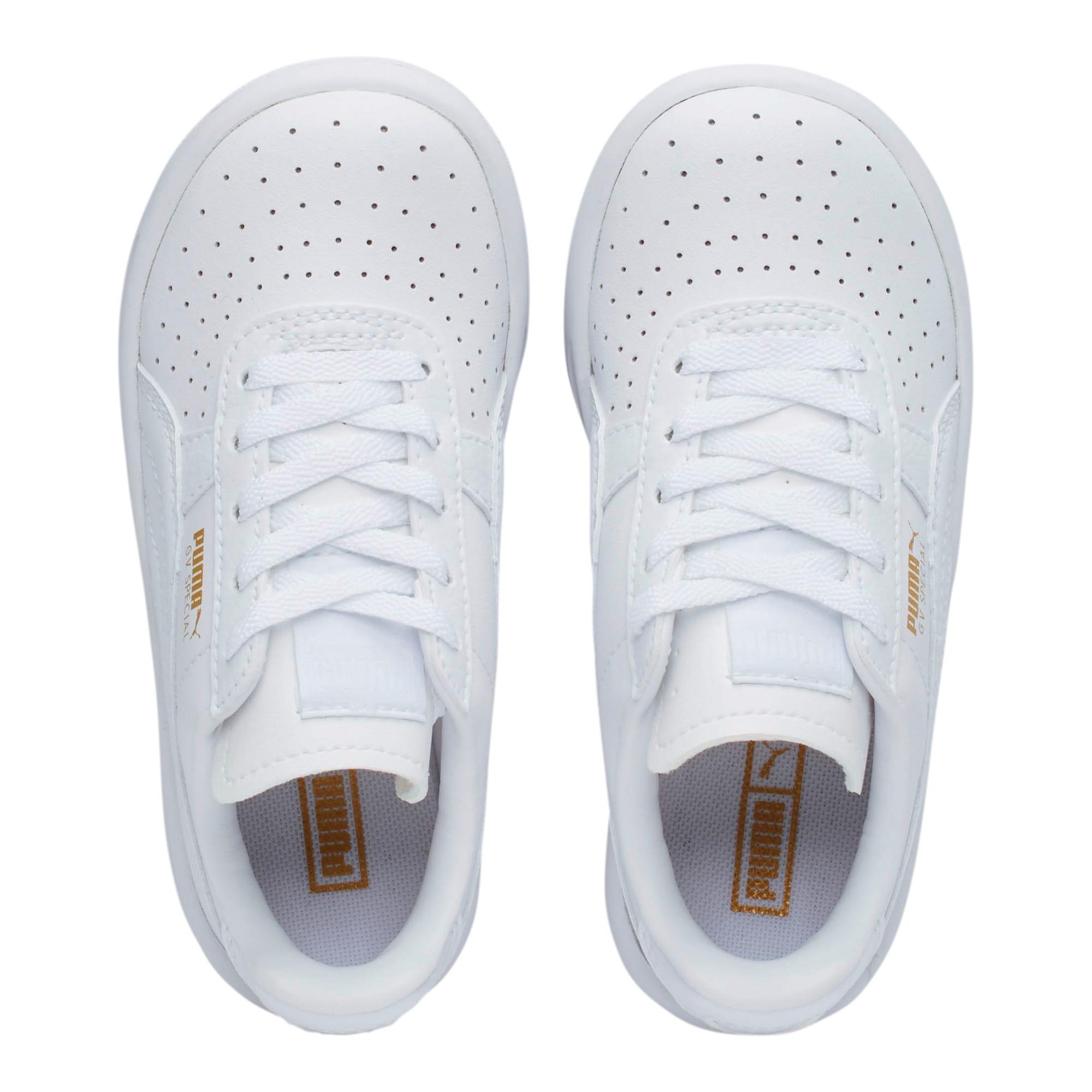 Thumbnail 6 of GV Special Little Kids' Shoes, Puma White-Puma Team Gold, medium