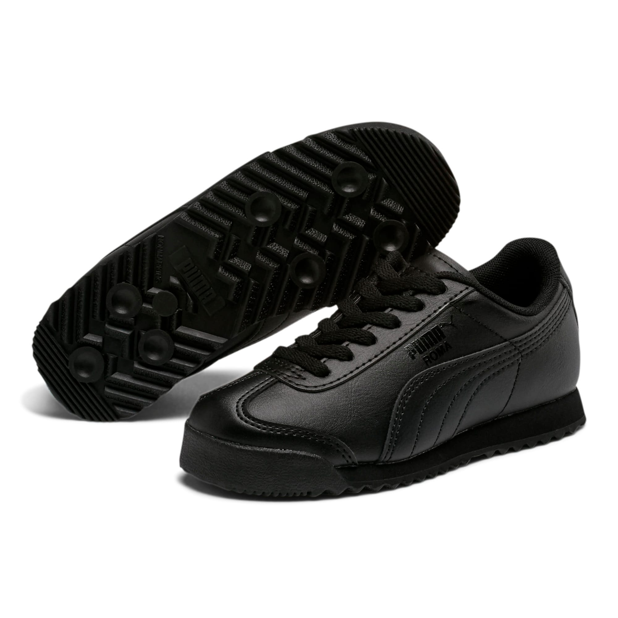 Thumbnail 2 of Roma Basic Little Kids' Shoes, Puma Black-Puma Black, medium