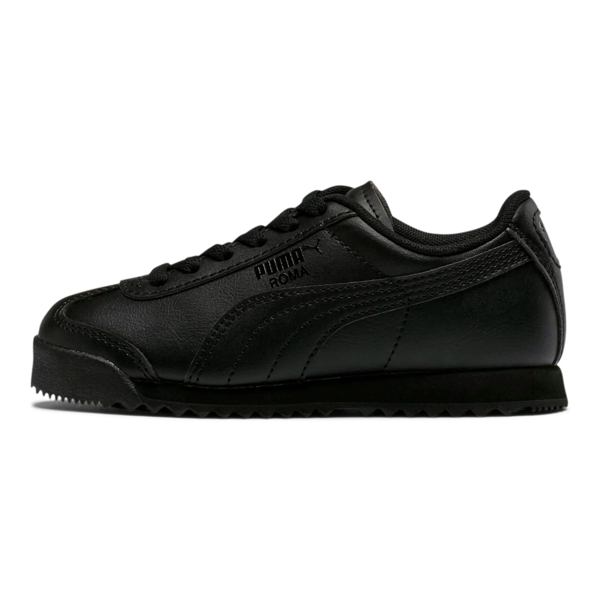 Thumbnail 1 of Roma Basic Little Kids' Shoes, Puma Black-Puma Black, medium