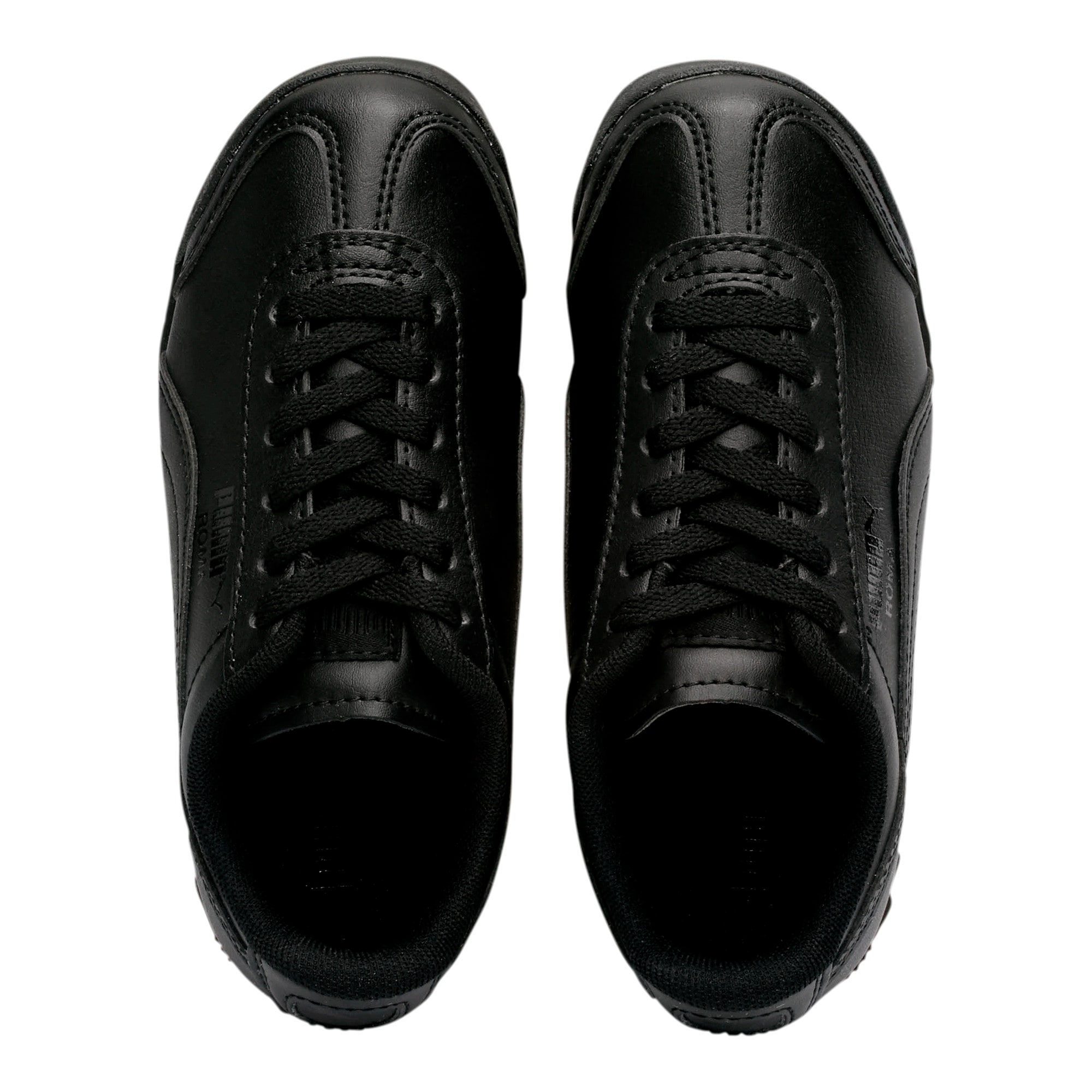 Thumbnail 6 of Roma Basic Little Kids' Shoes, Puma Black-Puma Black, medium