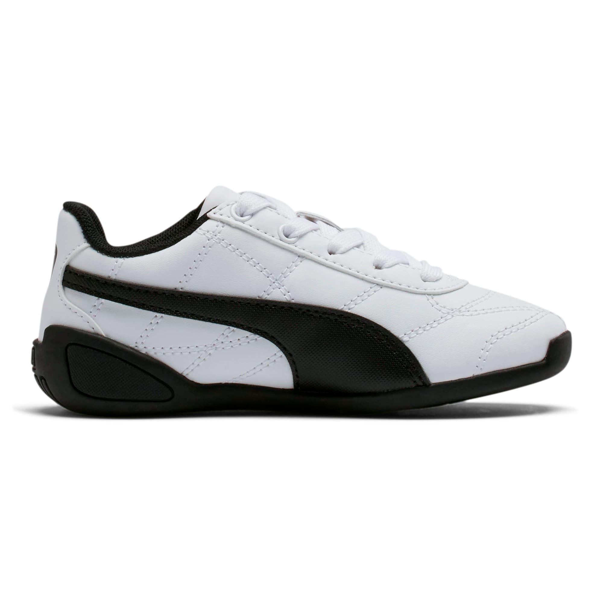 Thumbnail 5 of Tune Cat 3 Little Kids' Shoes, Puma White-Puma Black, medium