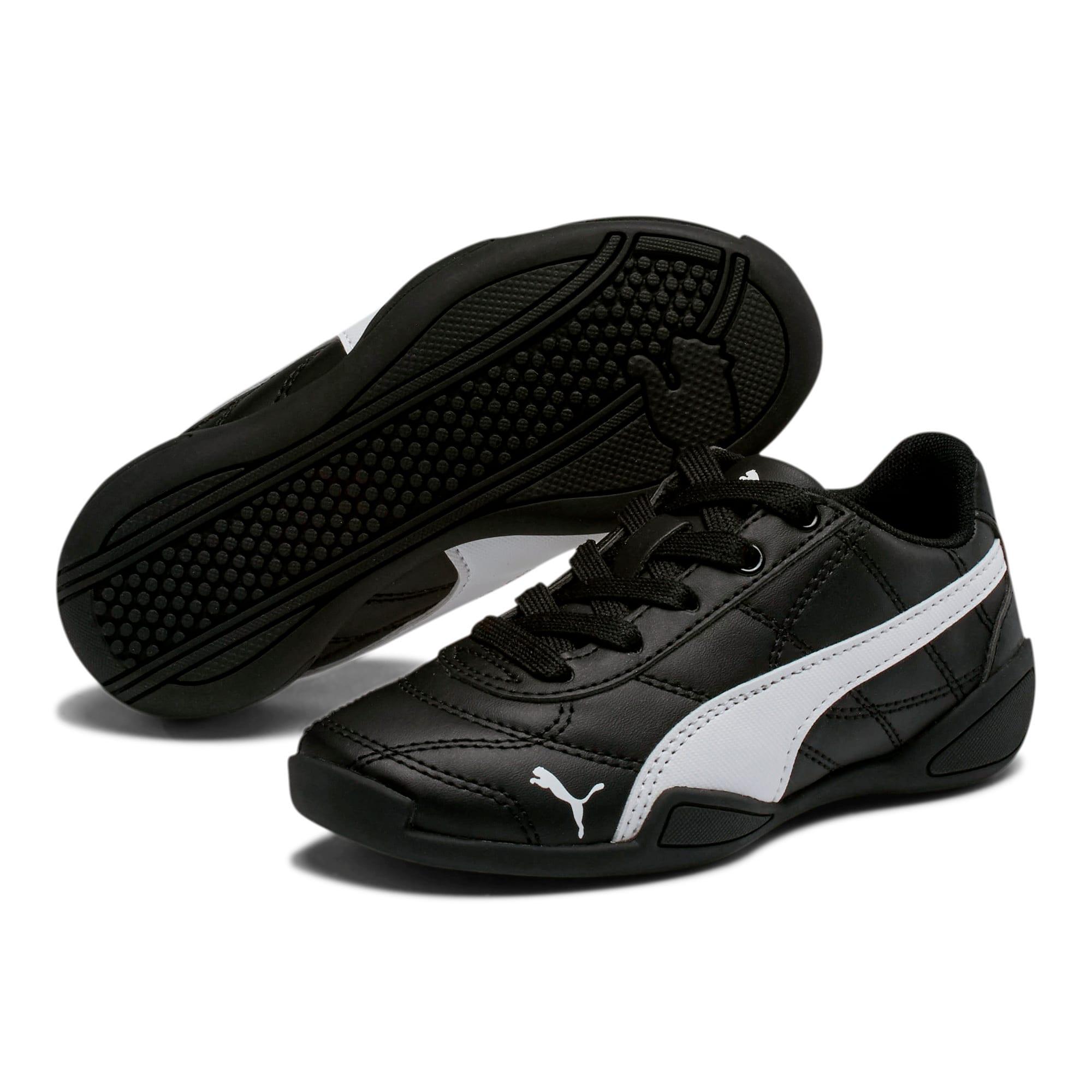 Thumbnail 2 of Tune Cat 3 Little Kids' Shoes, Puma Black-Puma White, medium