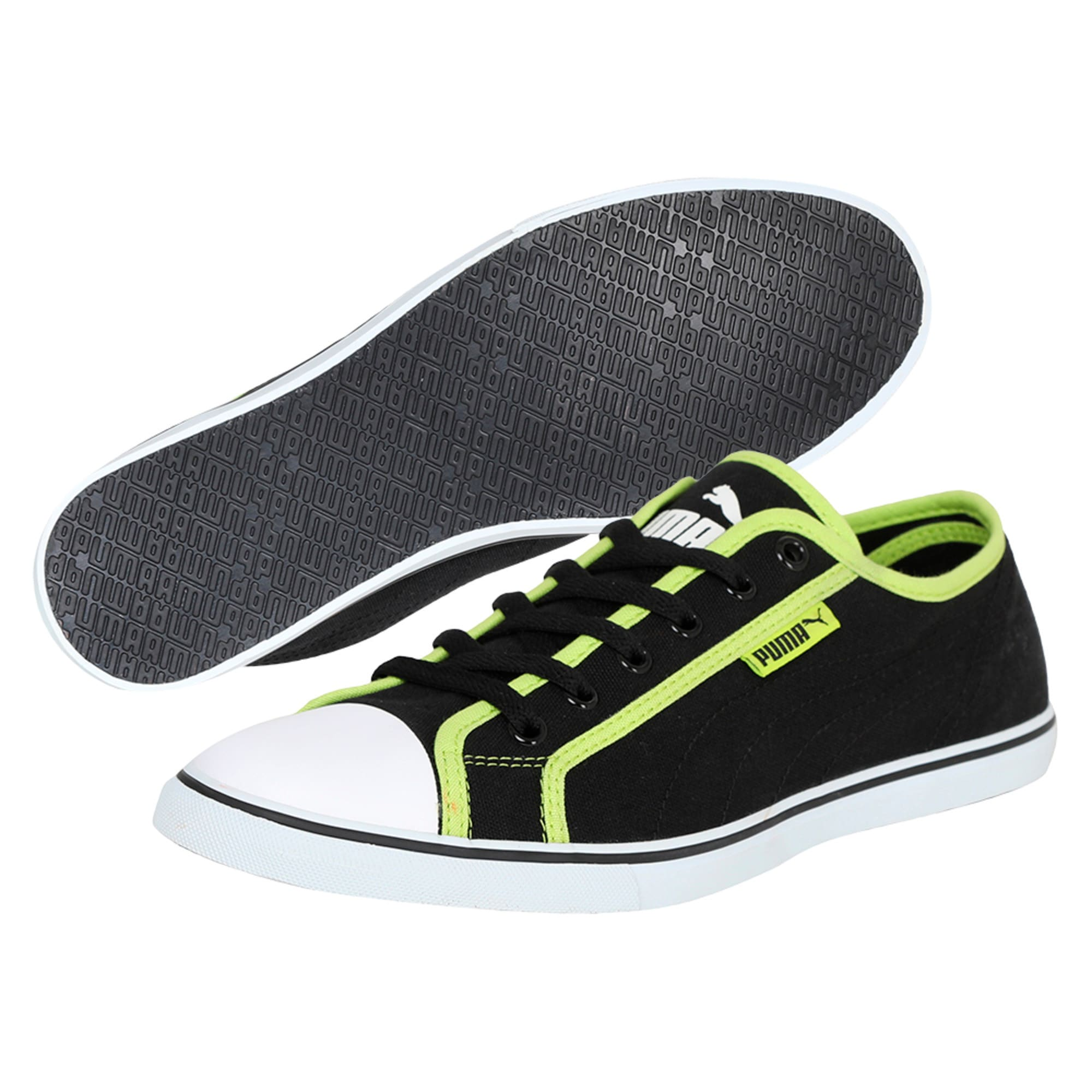 Thumbnail 2 of Puma Streetballer DP, Black-Puma White-Limepunch, medium-IND