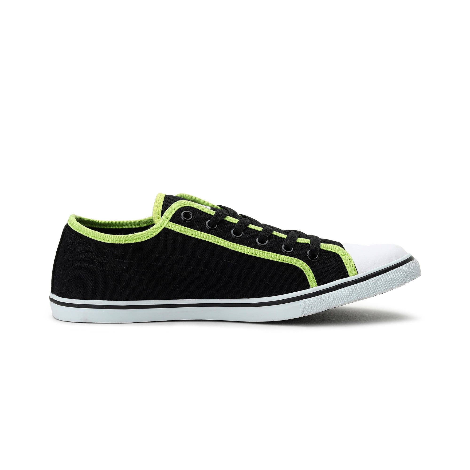 Thumbnail 5 of Puma Streetballer DP, Black-Puma White-Limepunch, medium-IND