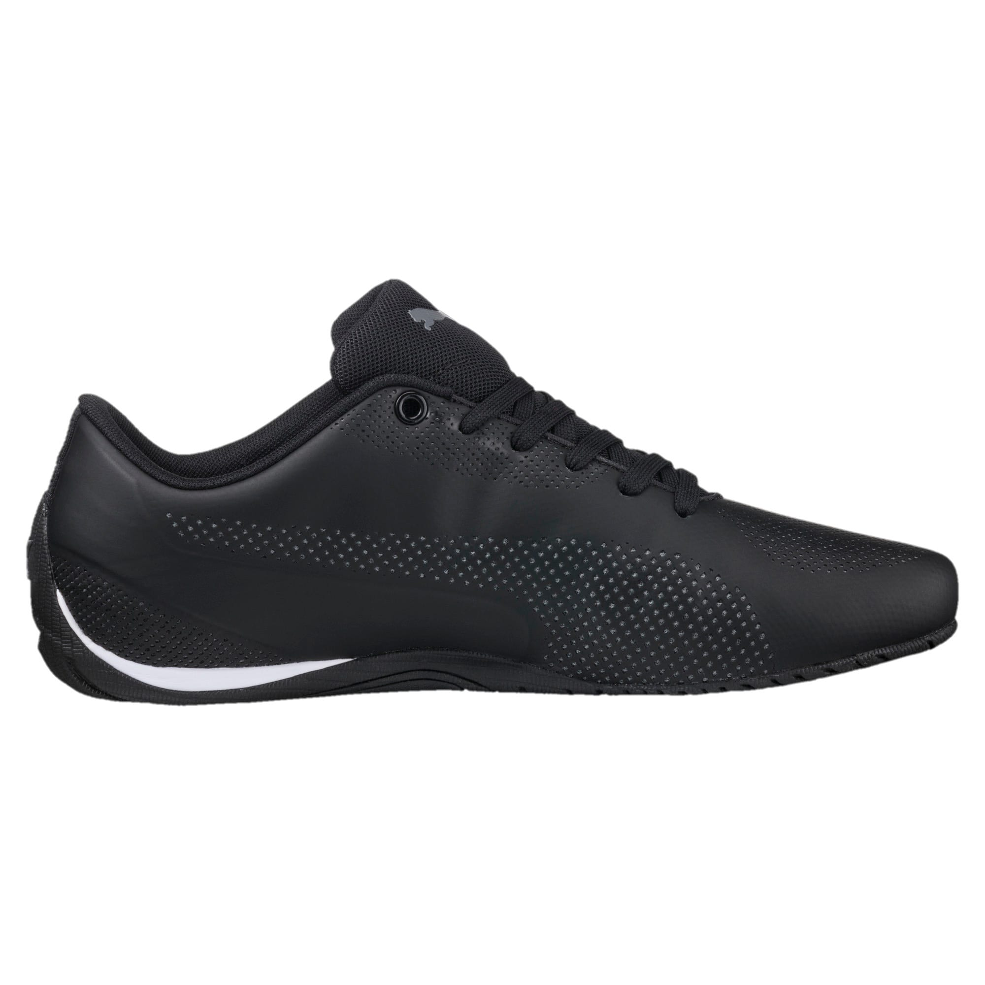 Thumbnail 4 of Drift Cat 5 Ultra Trainers, Puma Black-QUIET SHADE, medium-IND