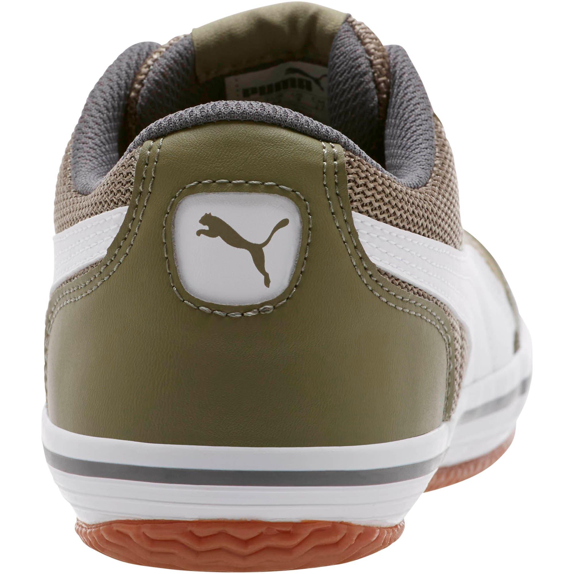 Thumbnail 4 of Astro Sala Sneakers, Burnt Olive-Puma White, medium